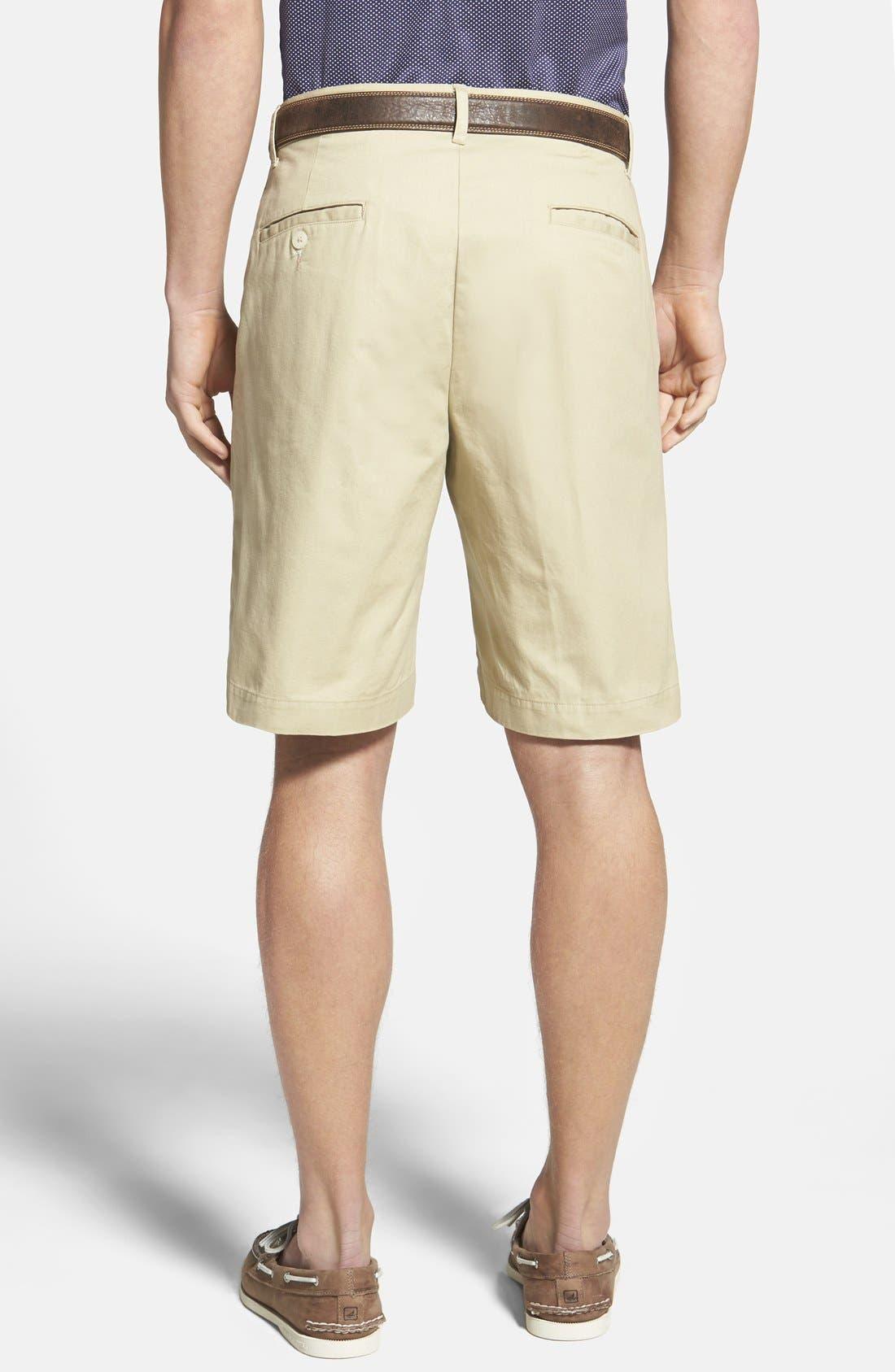 Alternate Image 2  - Bills Khakis 'Parker' Standard Fit Flat Front Island Twill Shorts