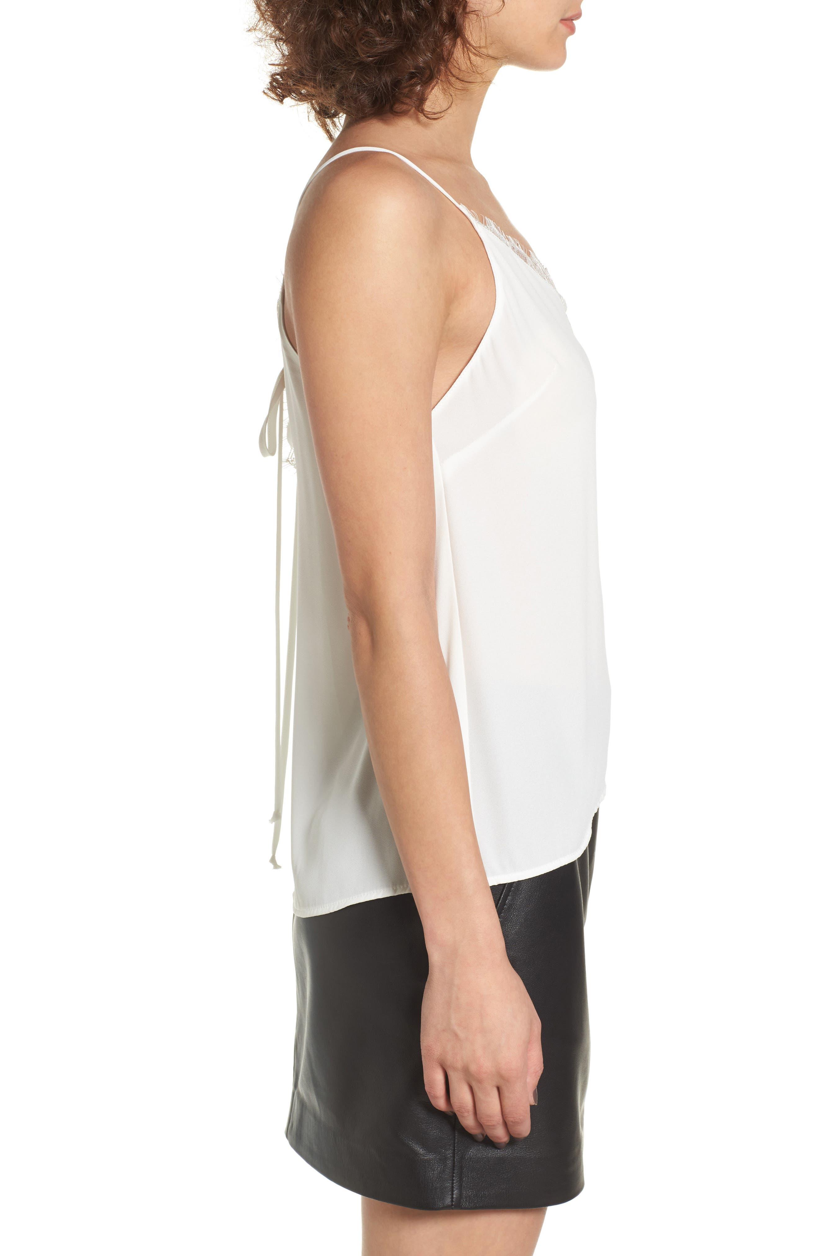 Alternate Image 3  - Lush Lace Trim Camisole
