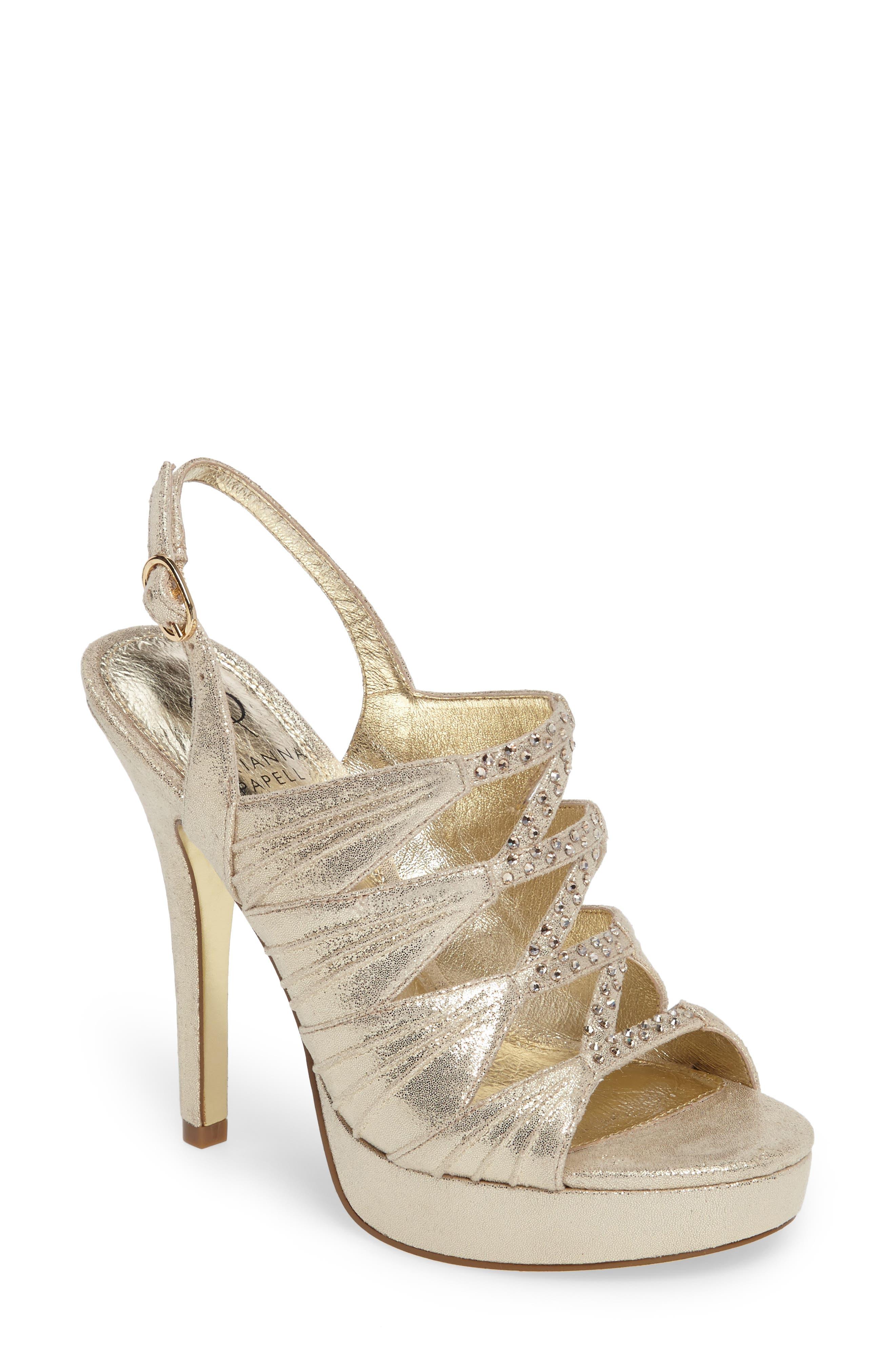 Alternate Image 1 Selected - Adrianna Pappell Marissa Platform Sandal (Women)