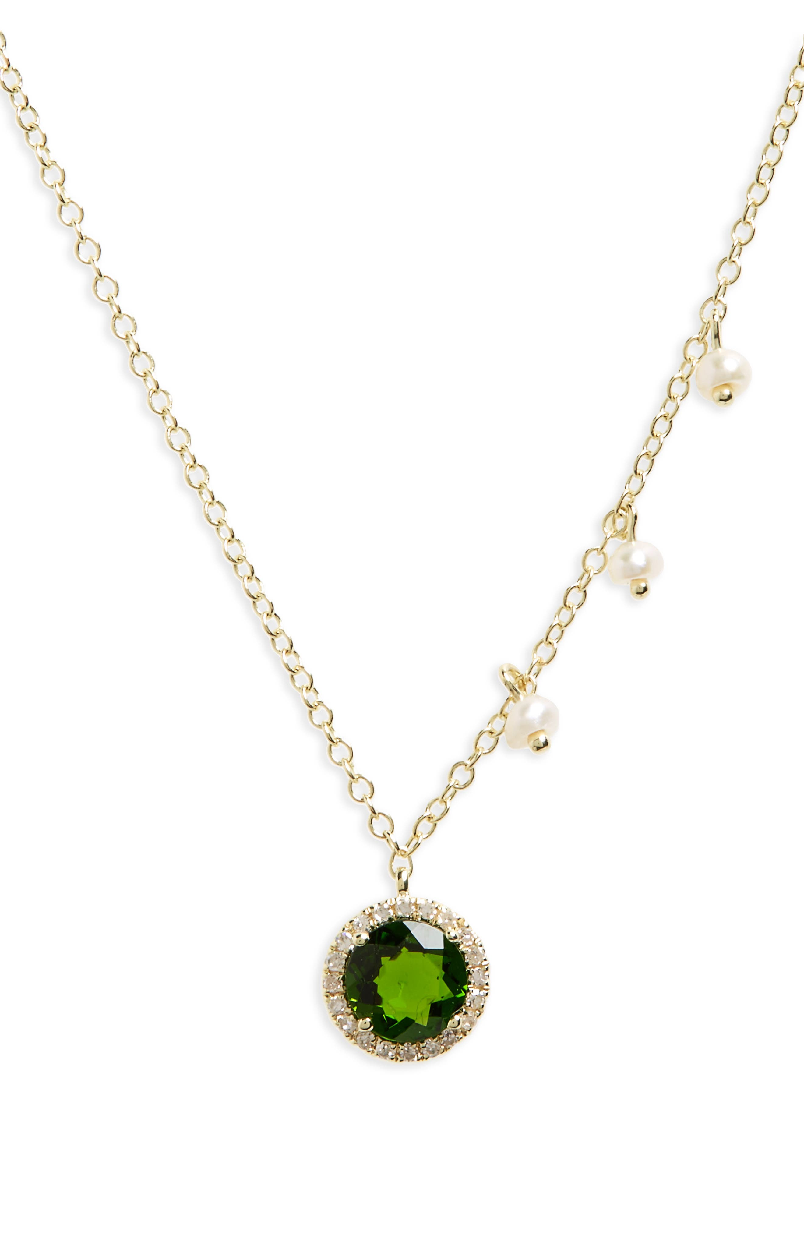 Meira T Small Pendant Necklace