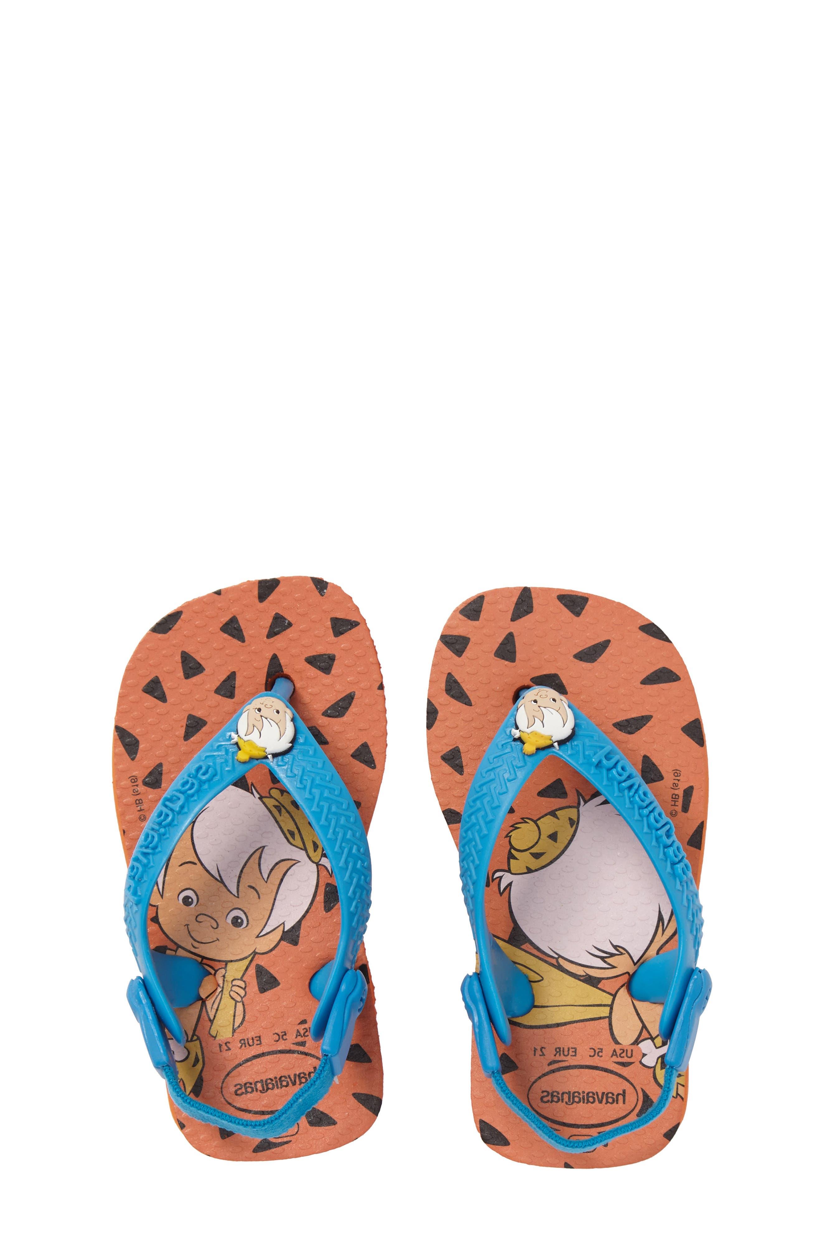Havianas Baby Flintstones Flip Flop (Baby & Walker)