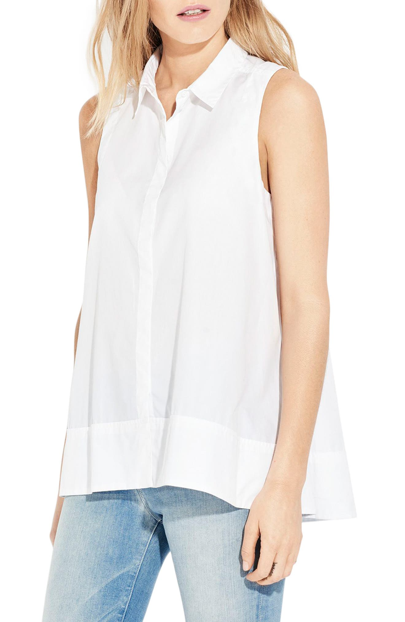 AYR The Swing Sleeveless Cotton Shirt