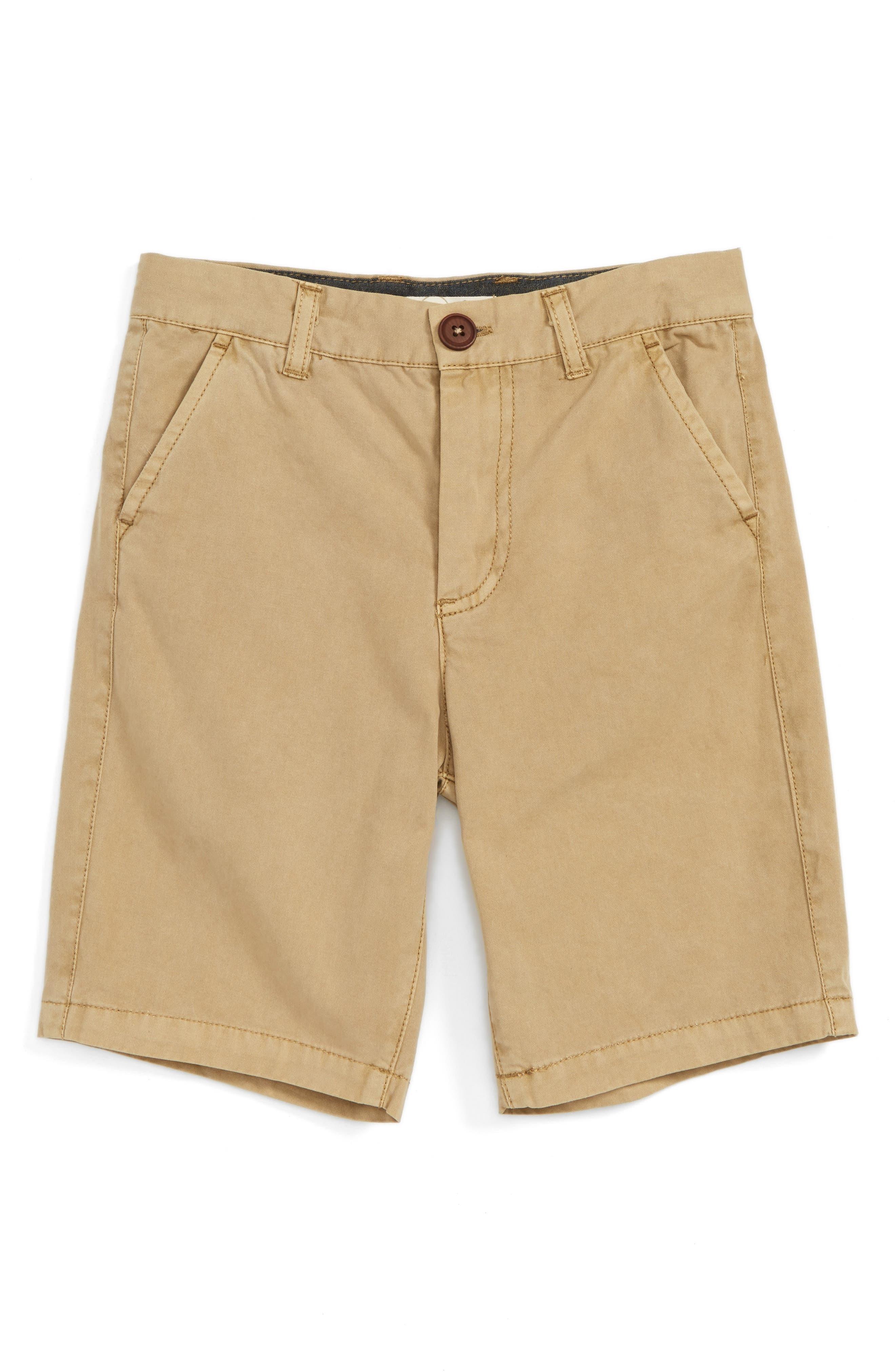 Peek Flat Front Shorts (Toddler Boys, Little Boys & Big Boys)