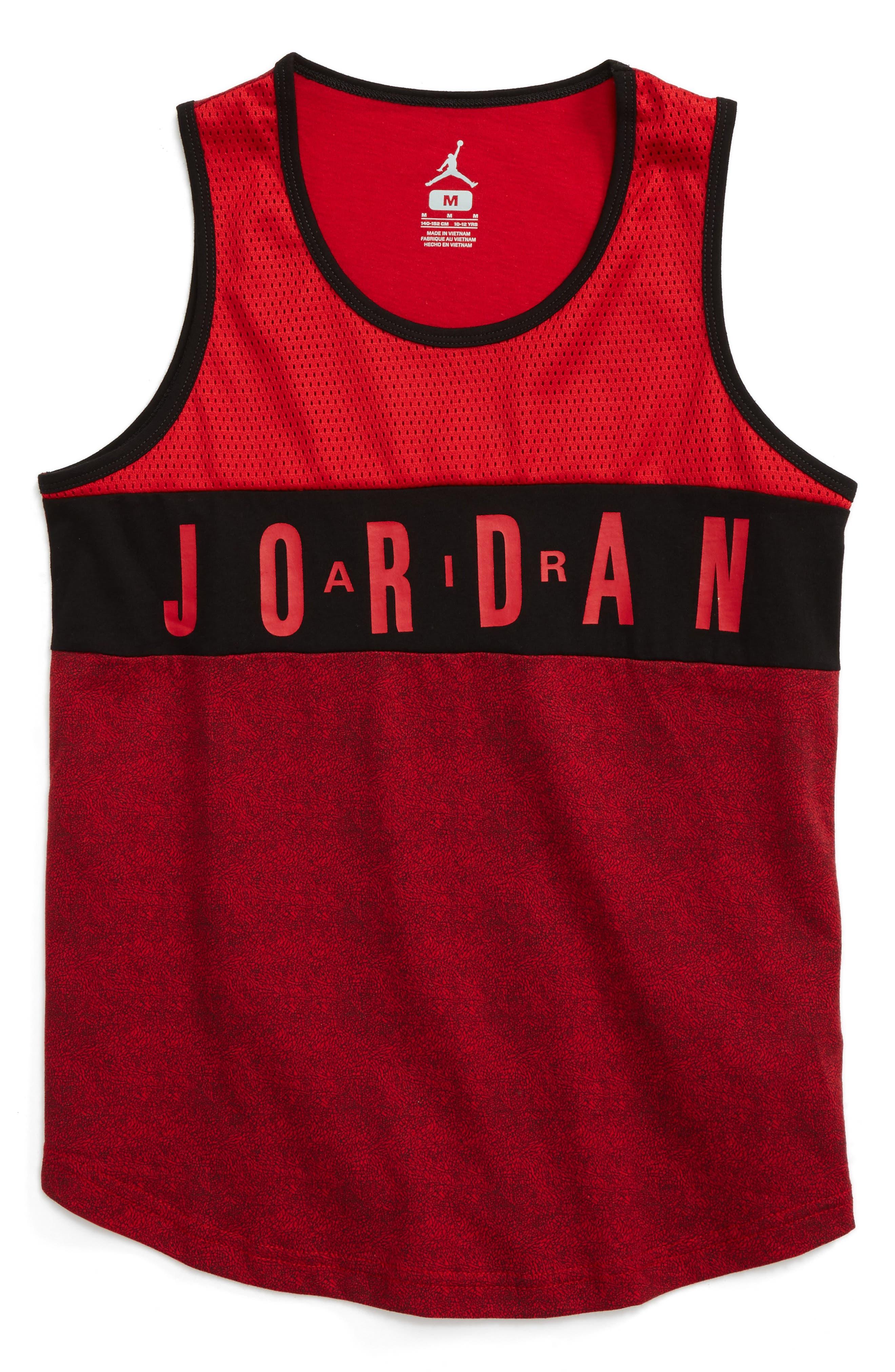 Jordan Mesh Panel Graphic Tank (Big Boys)