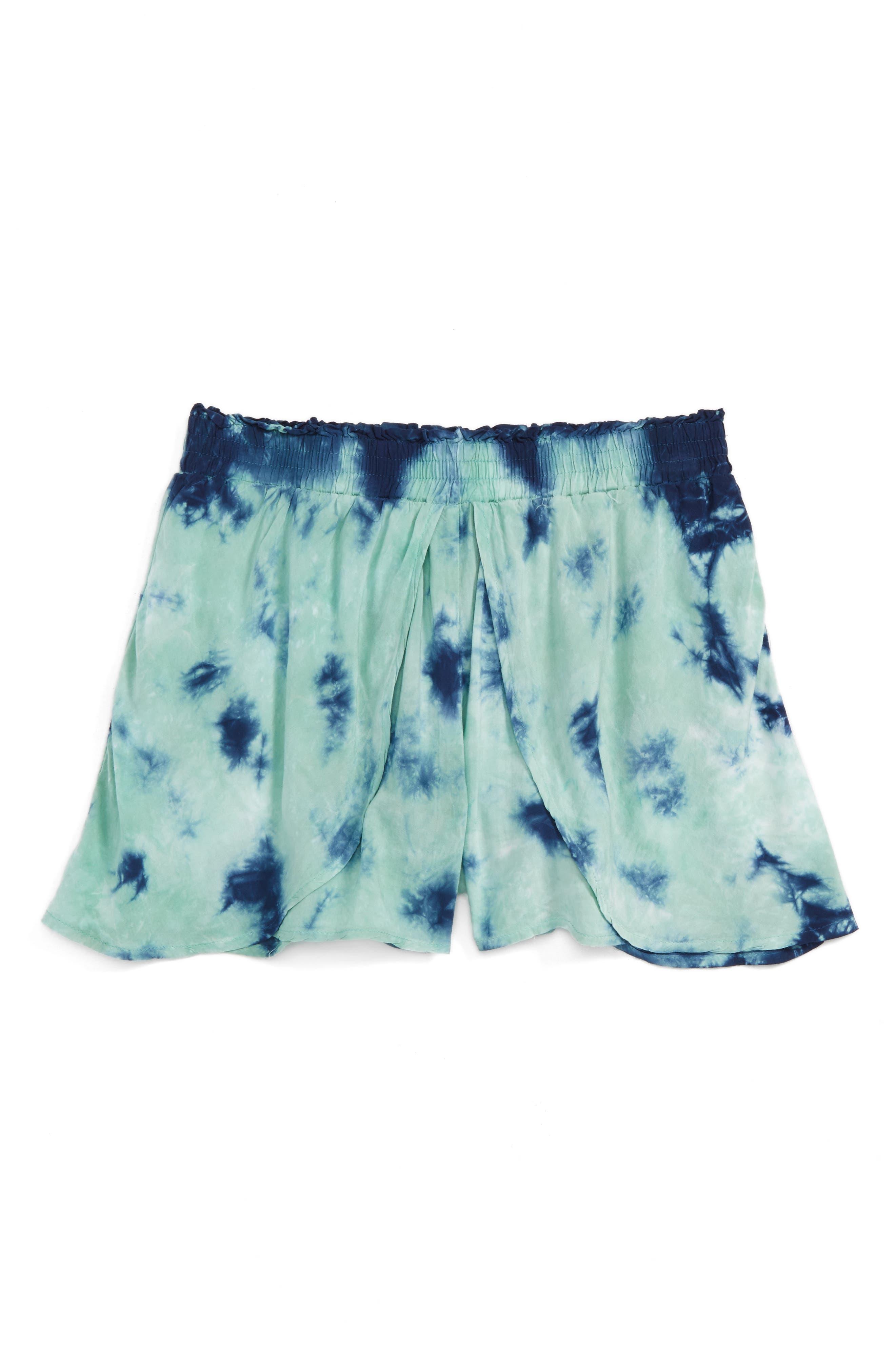 Splendid Tie Dye Shorts (Big Girls)