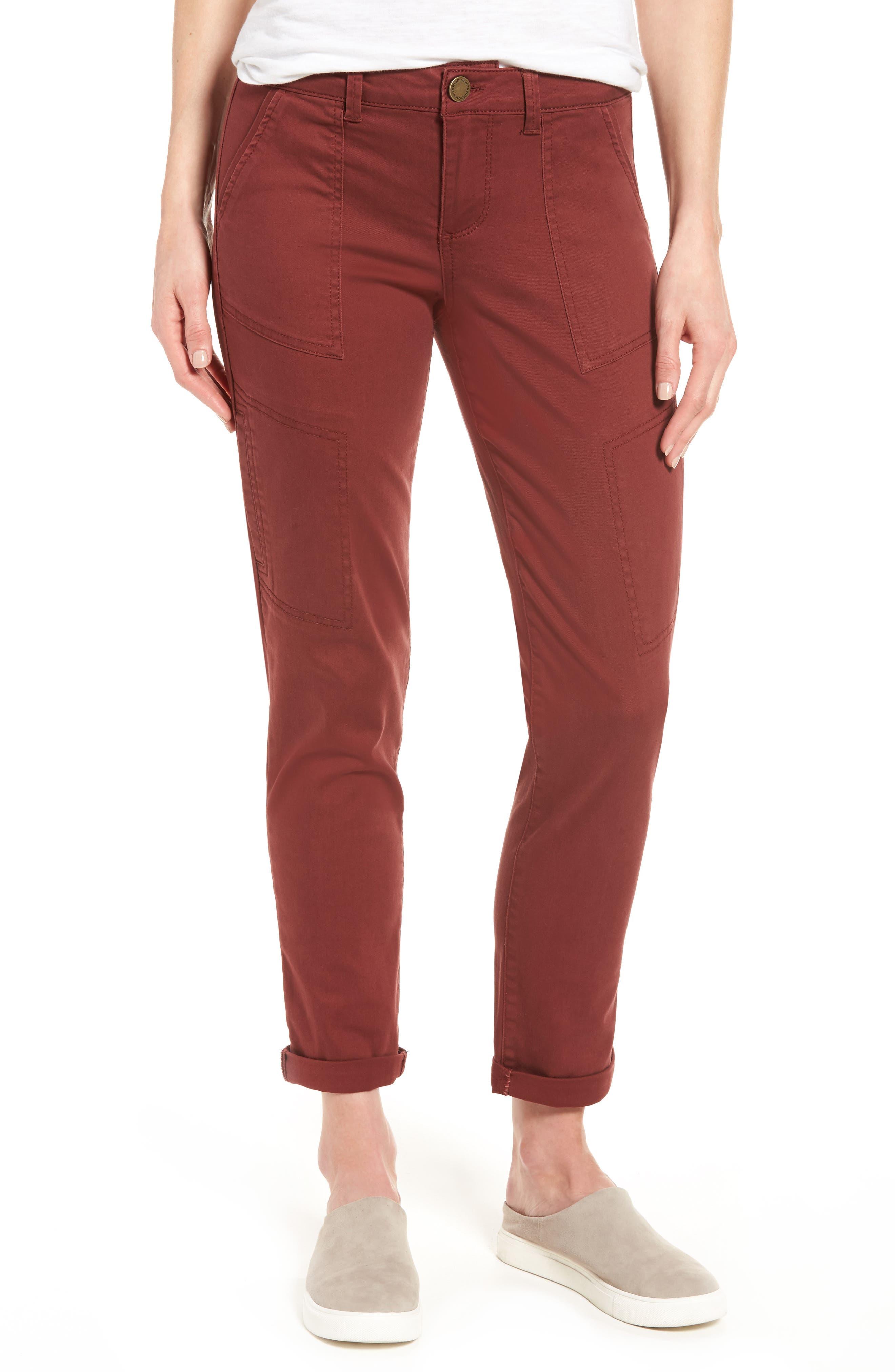 Wit & Wisdom Skinny Cargo Pants (Regular & Petite) (Nordstrom Exclusive)
