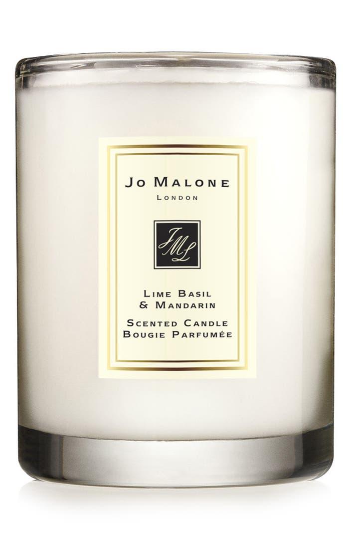 jo malone 39 lime basil mandarin 39 scented travel candle. Black Bedroom Furniture Sets. Home Design Ideas
