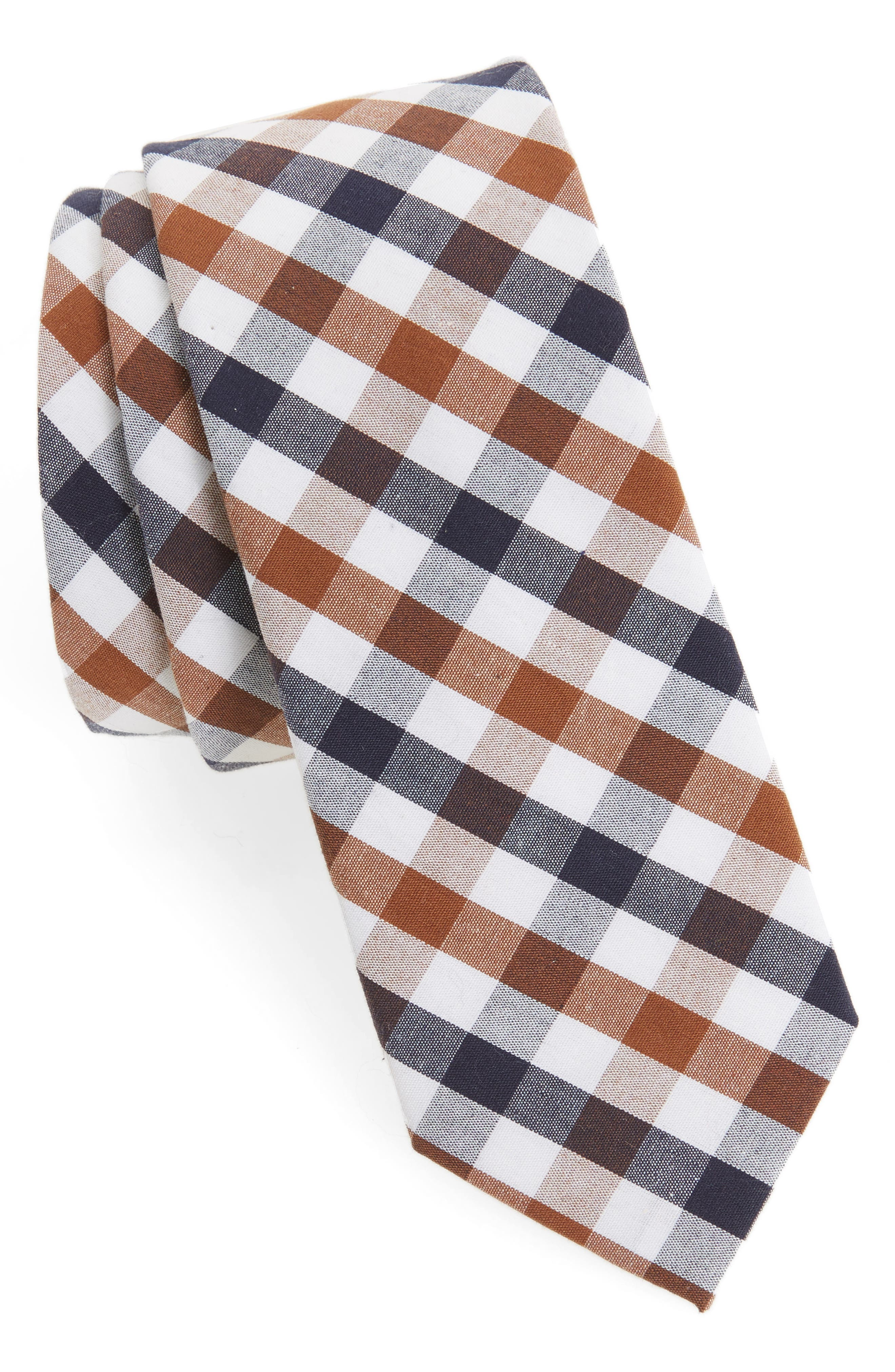 1901 Check Cotton Tie