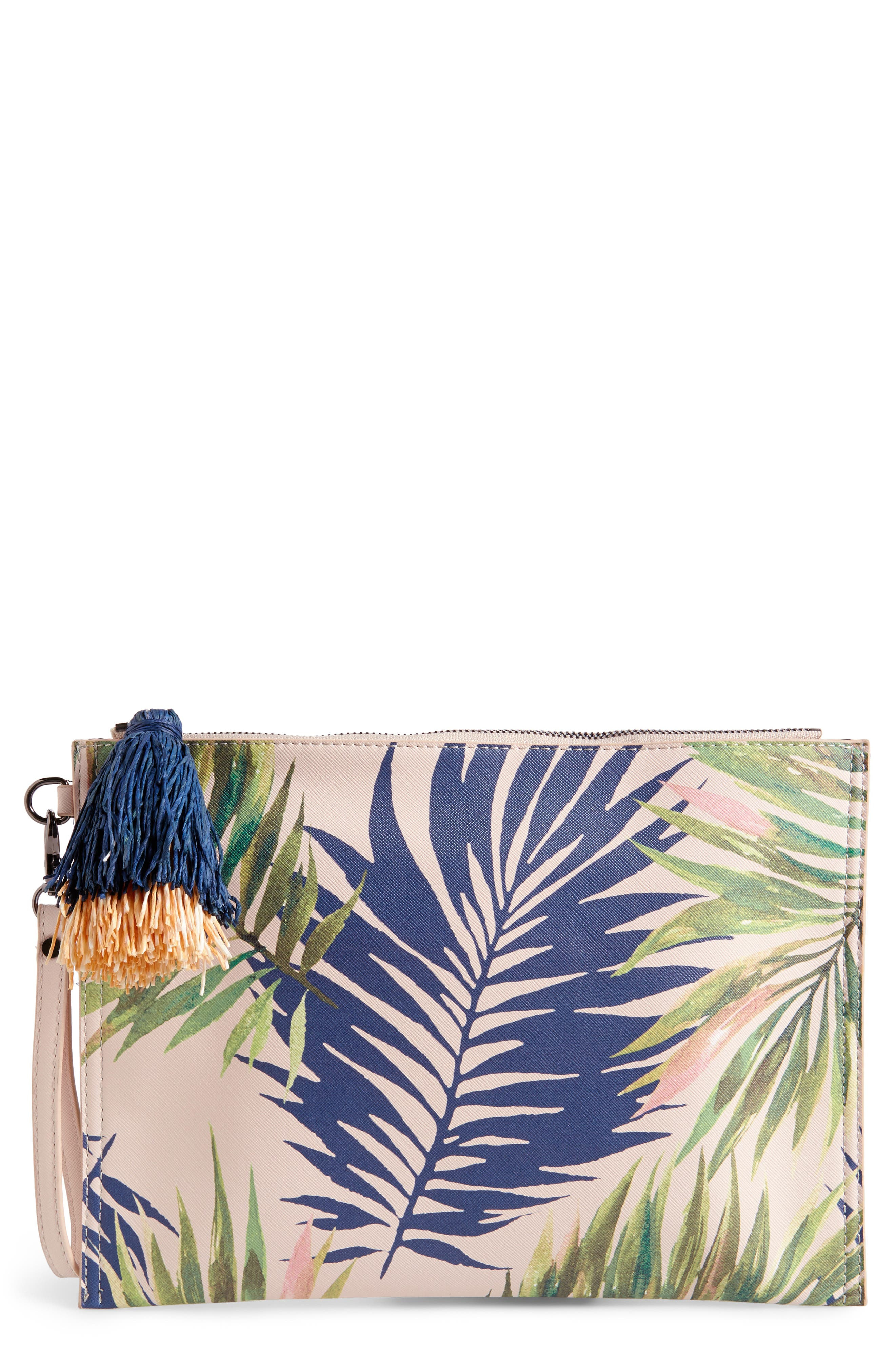 Sole Society Panoma Print Pouch