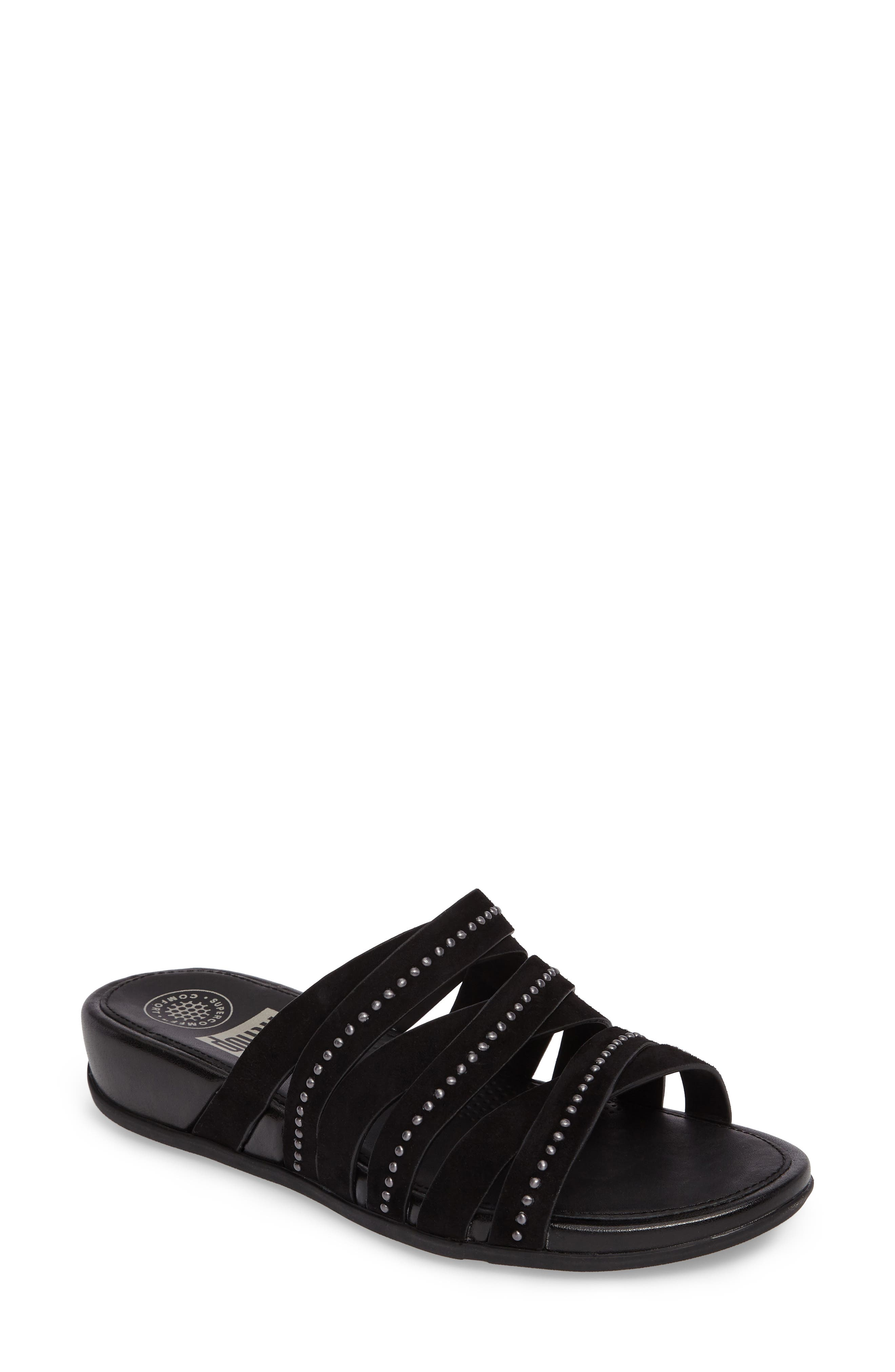 FitFlop™ Lumy Wedge Slide Sandal (Women)