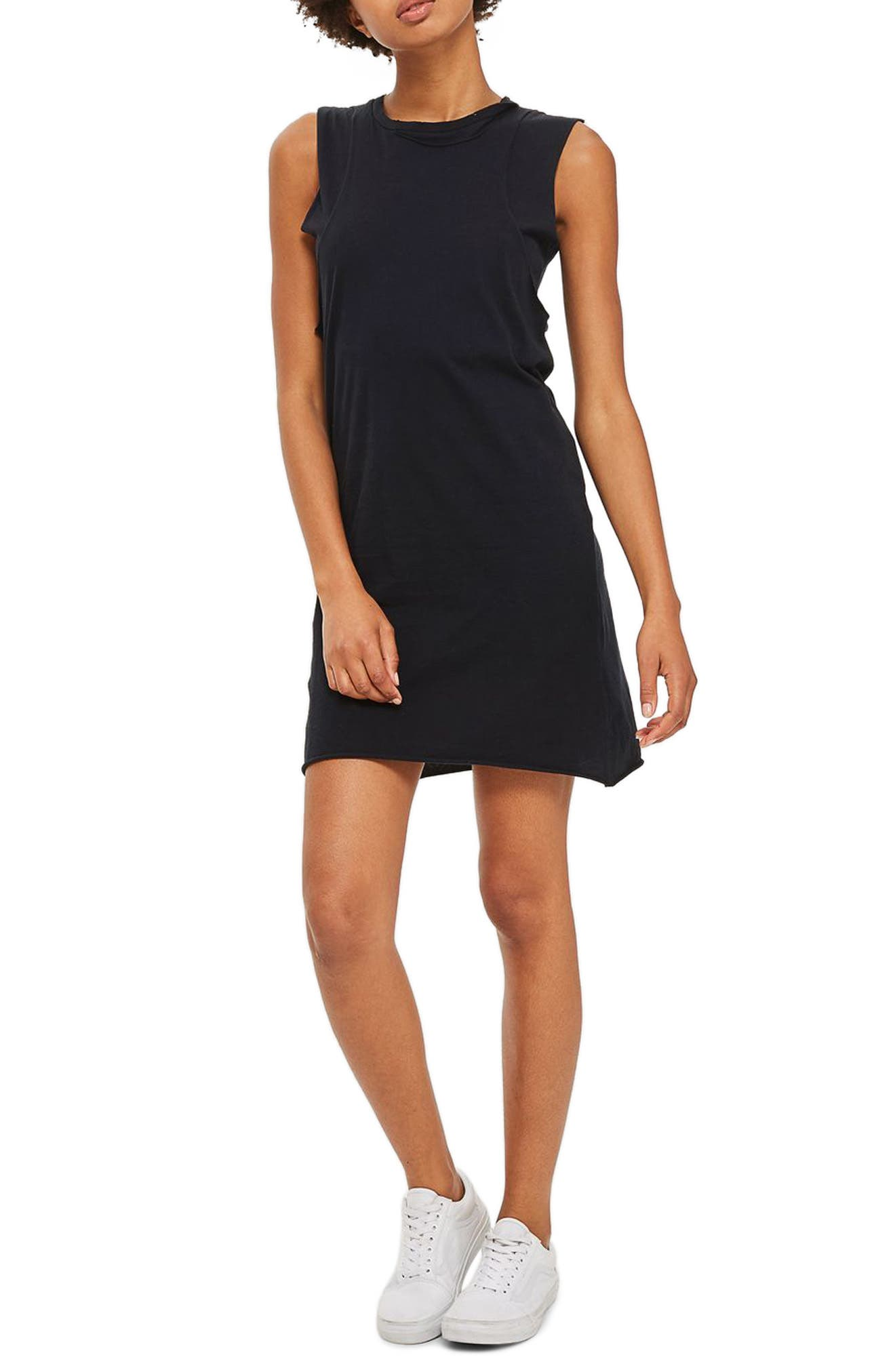 Topshop Layered Tank Dress