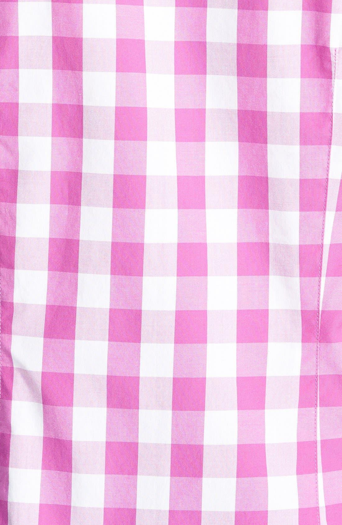 Alternate Image 3  - Vineyard Vines Oversize Gingham Check Shirt