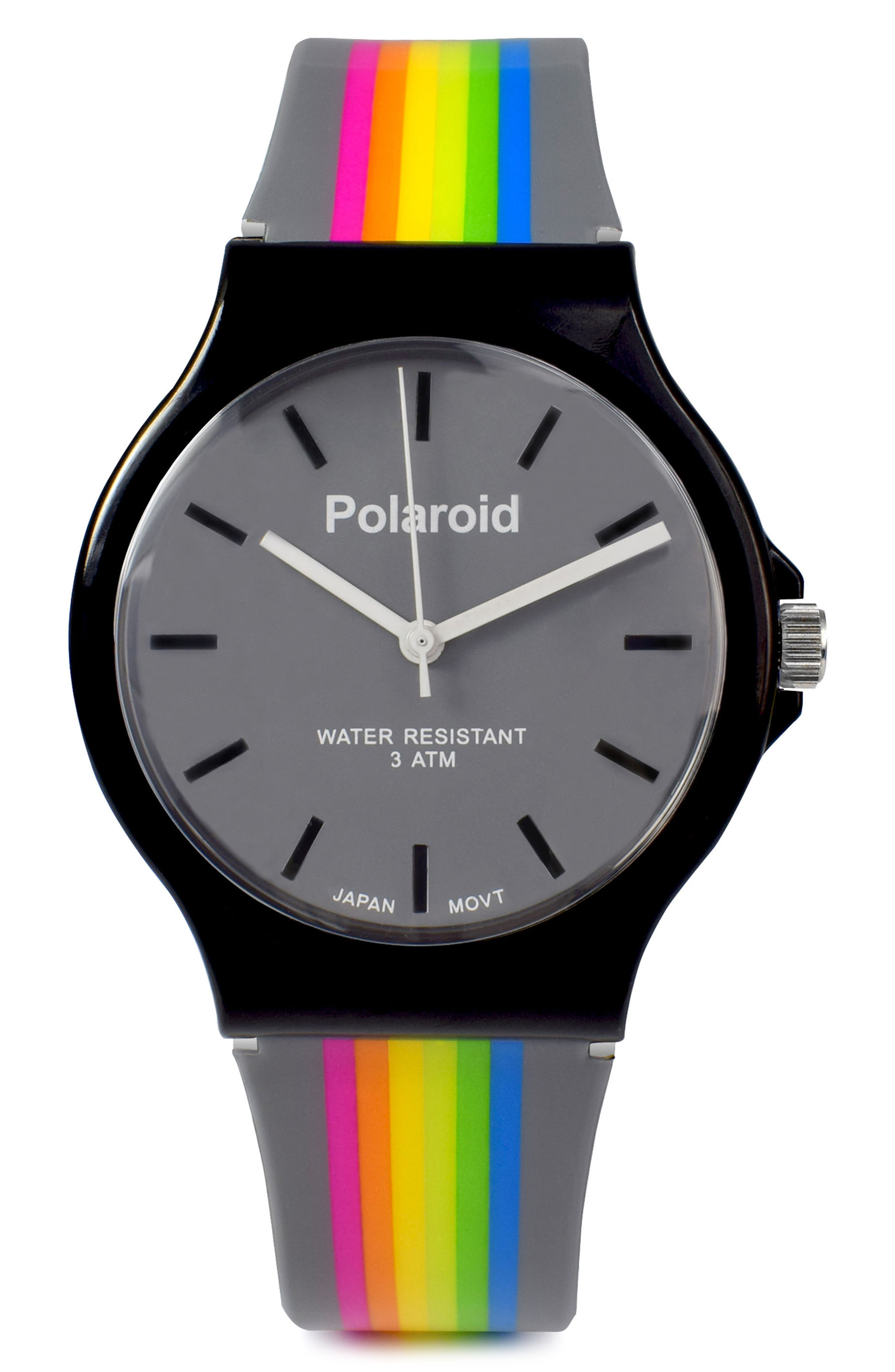 Polaroid Rubber Strap Watch, 35mm