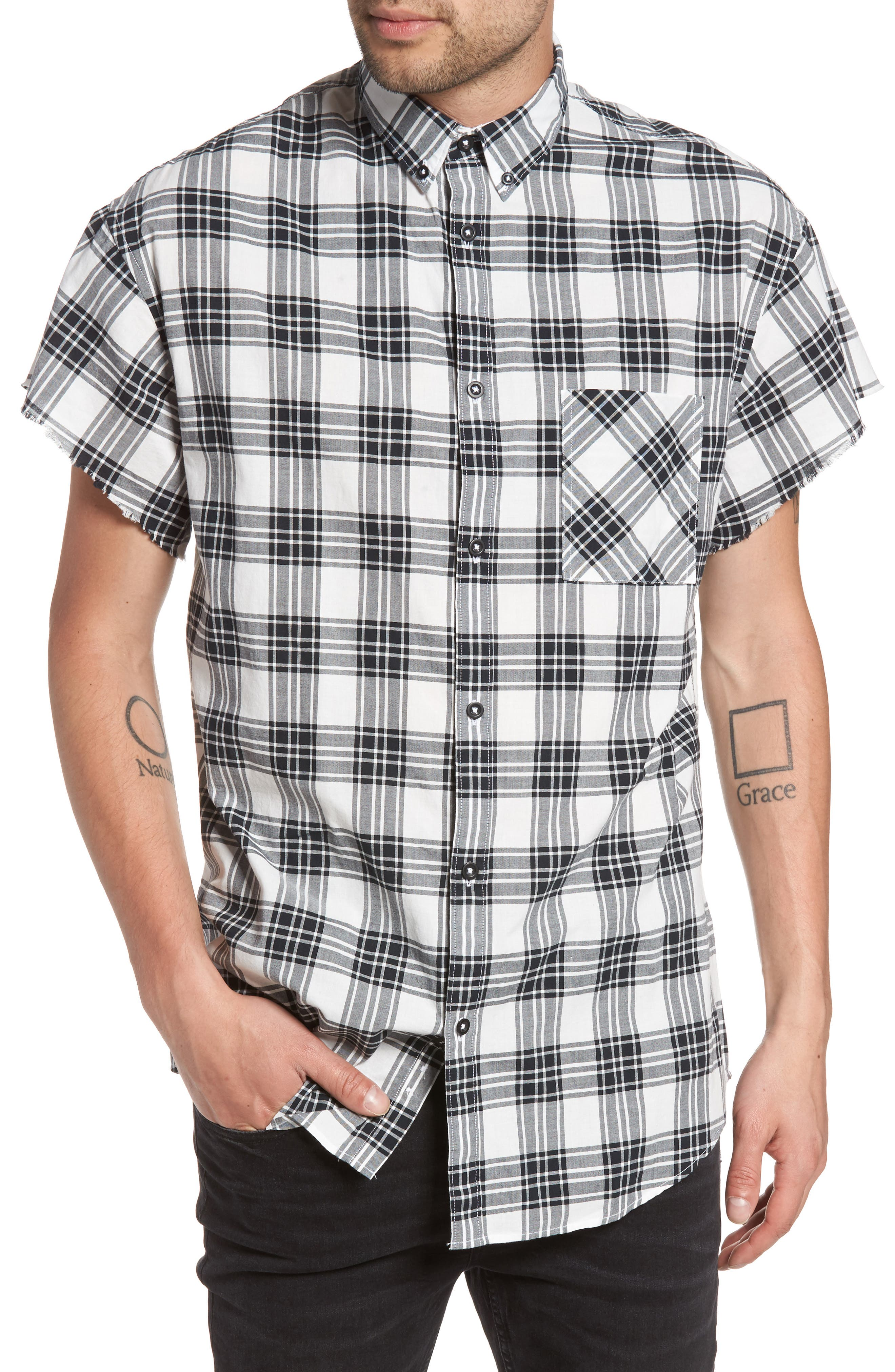 ZANEROBE Rugger Plaid Shirt