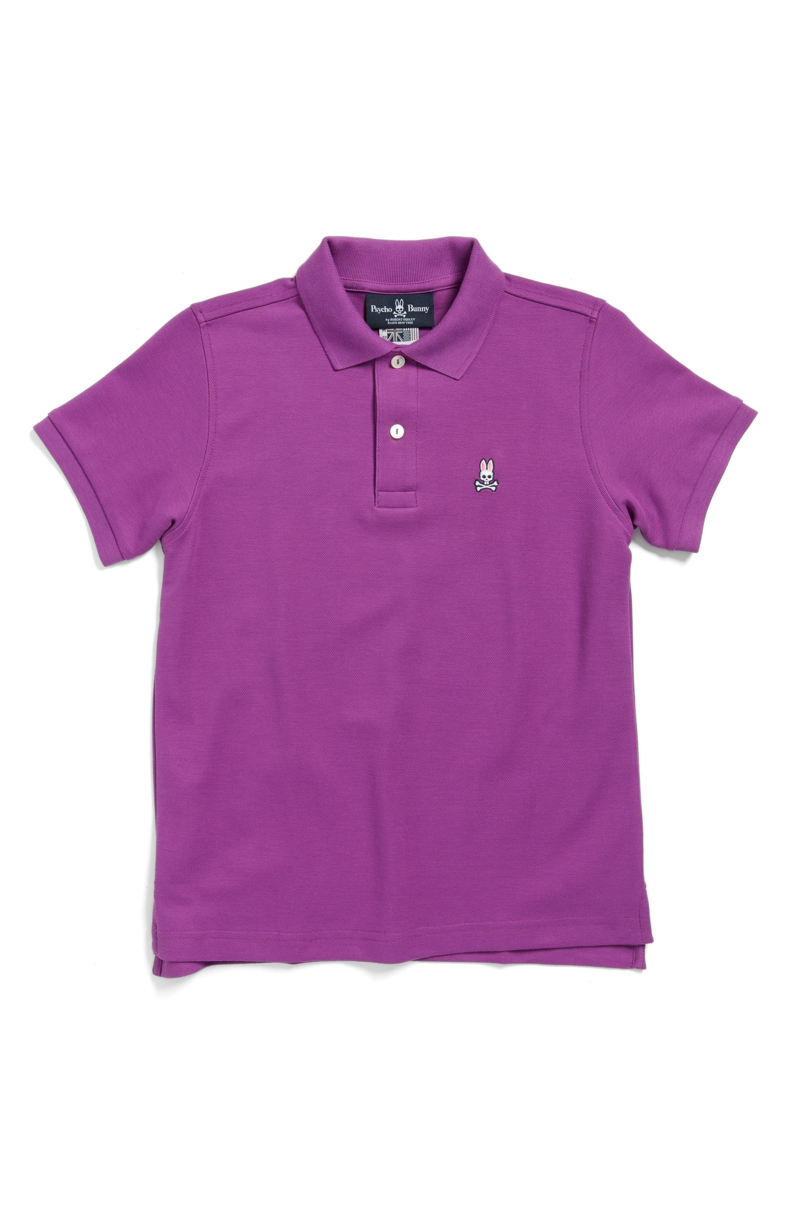 Psycho Bunny Classic Polo (Little Boys & Big Boys)