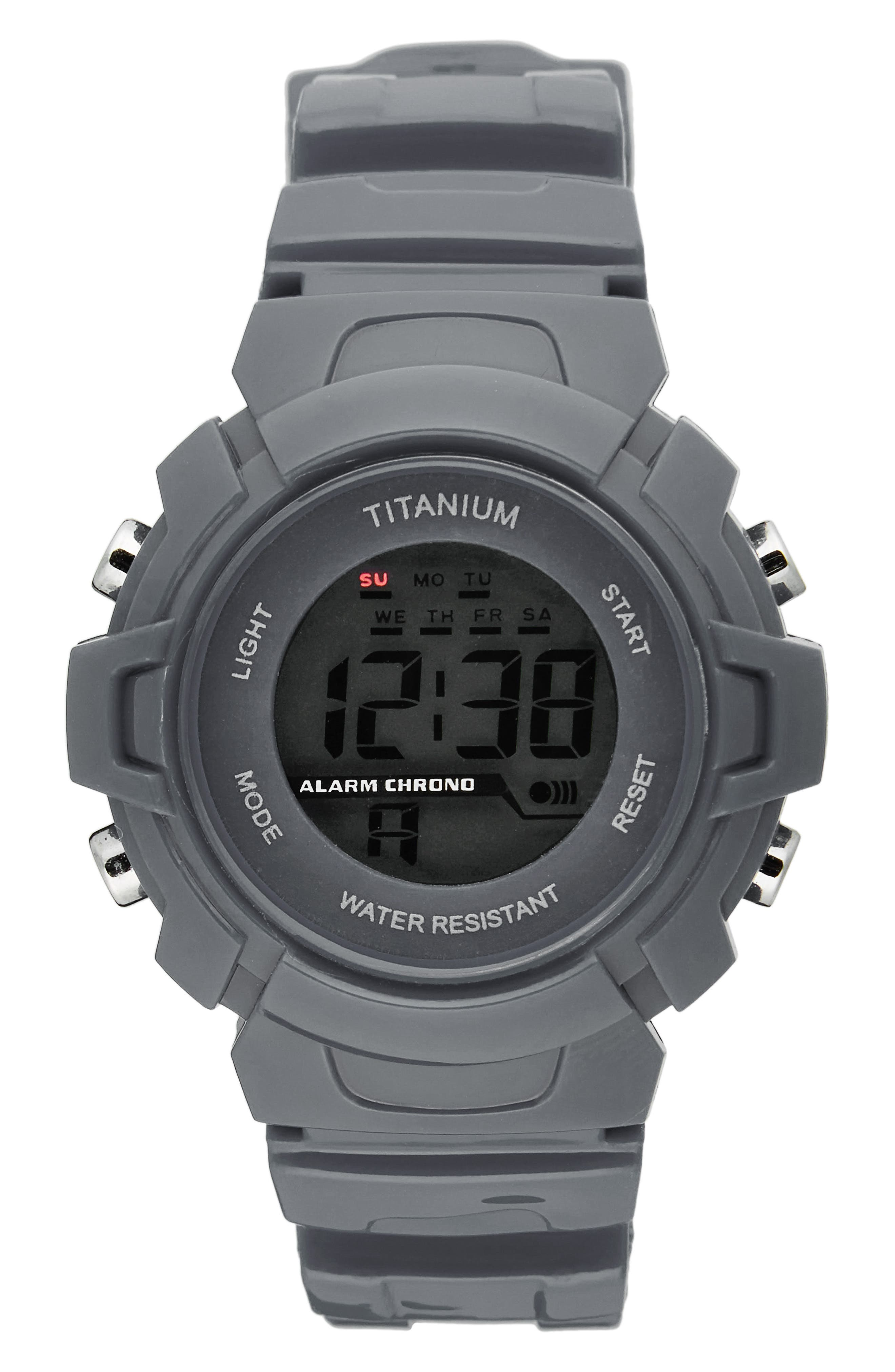 Titanium LCD Sport Watch (Kids)