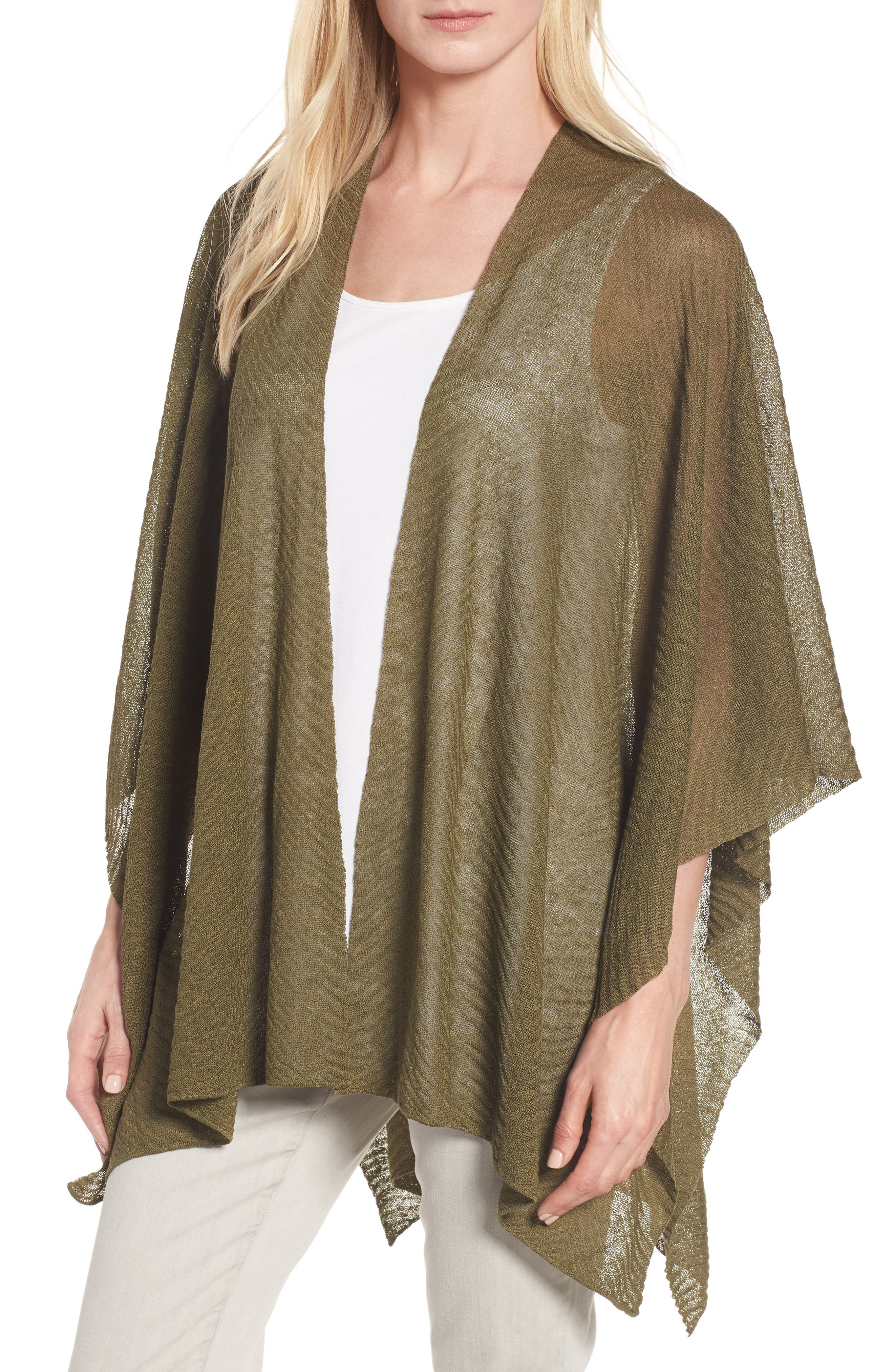 Eileen Fisher Hemp Blend Serape