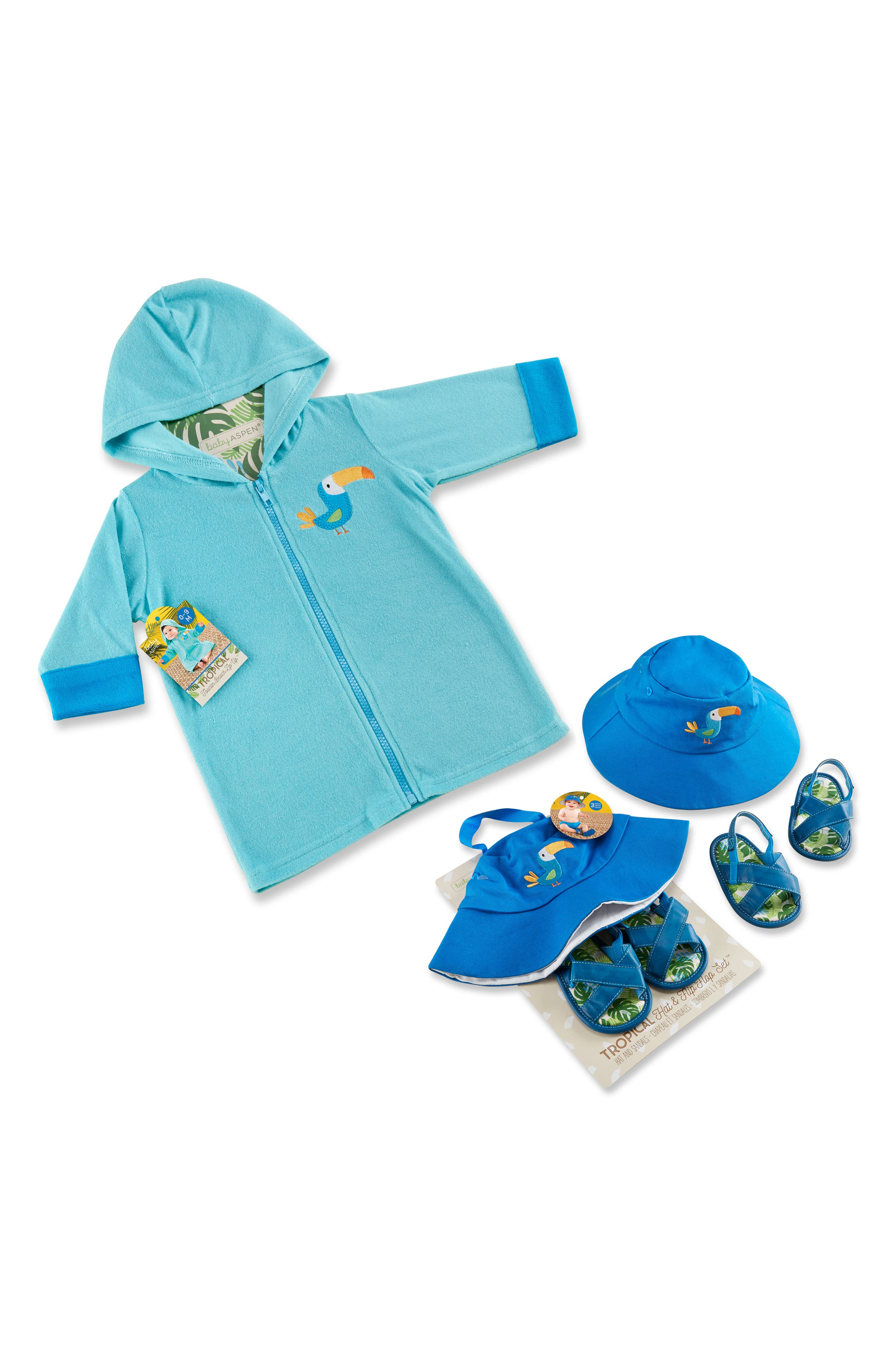 Baby Aspen Tropical 3-Piece Gift Set (Baby)