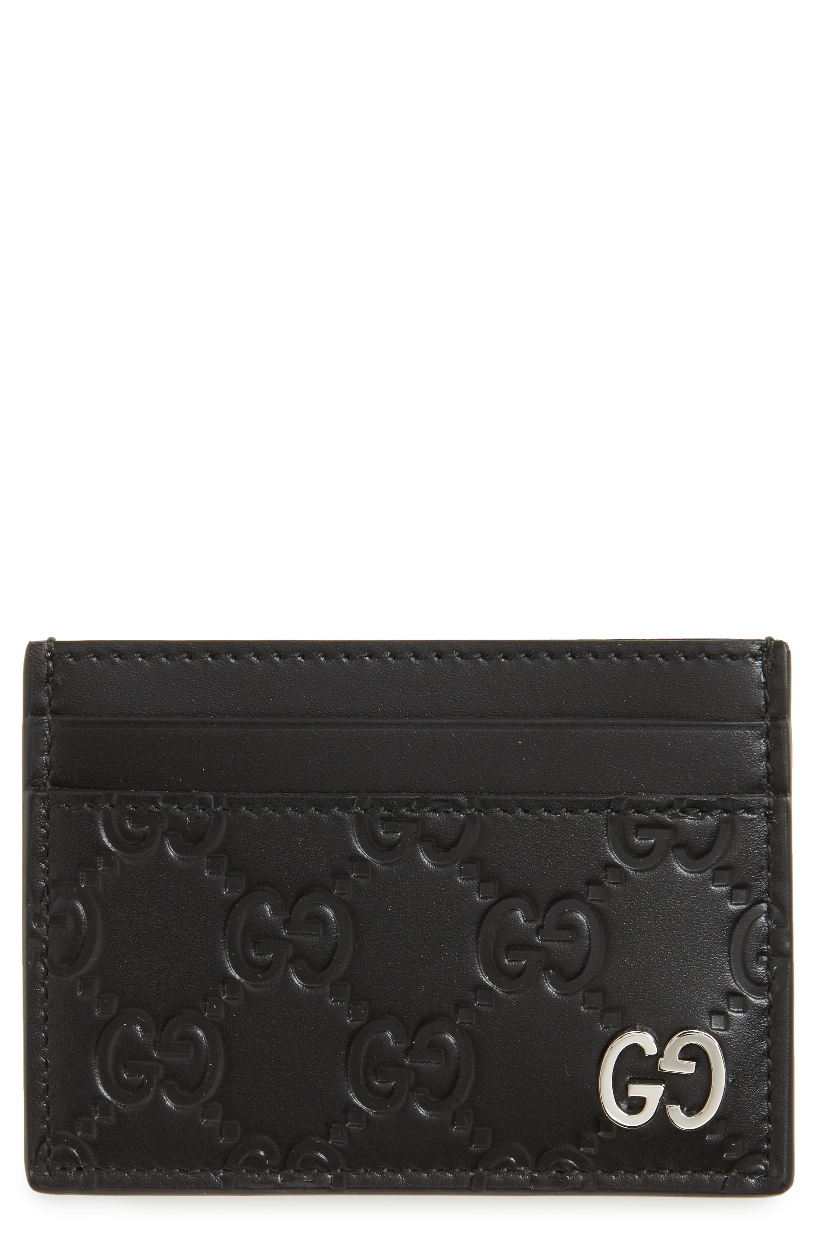 Gucci Dorian Leather Card Case