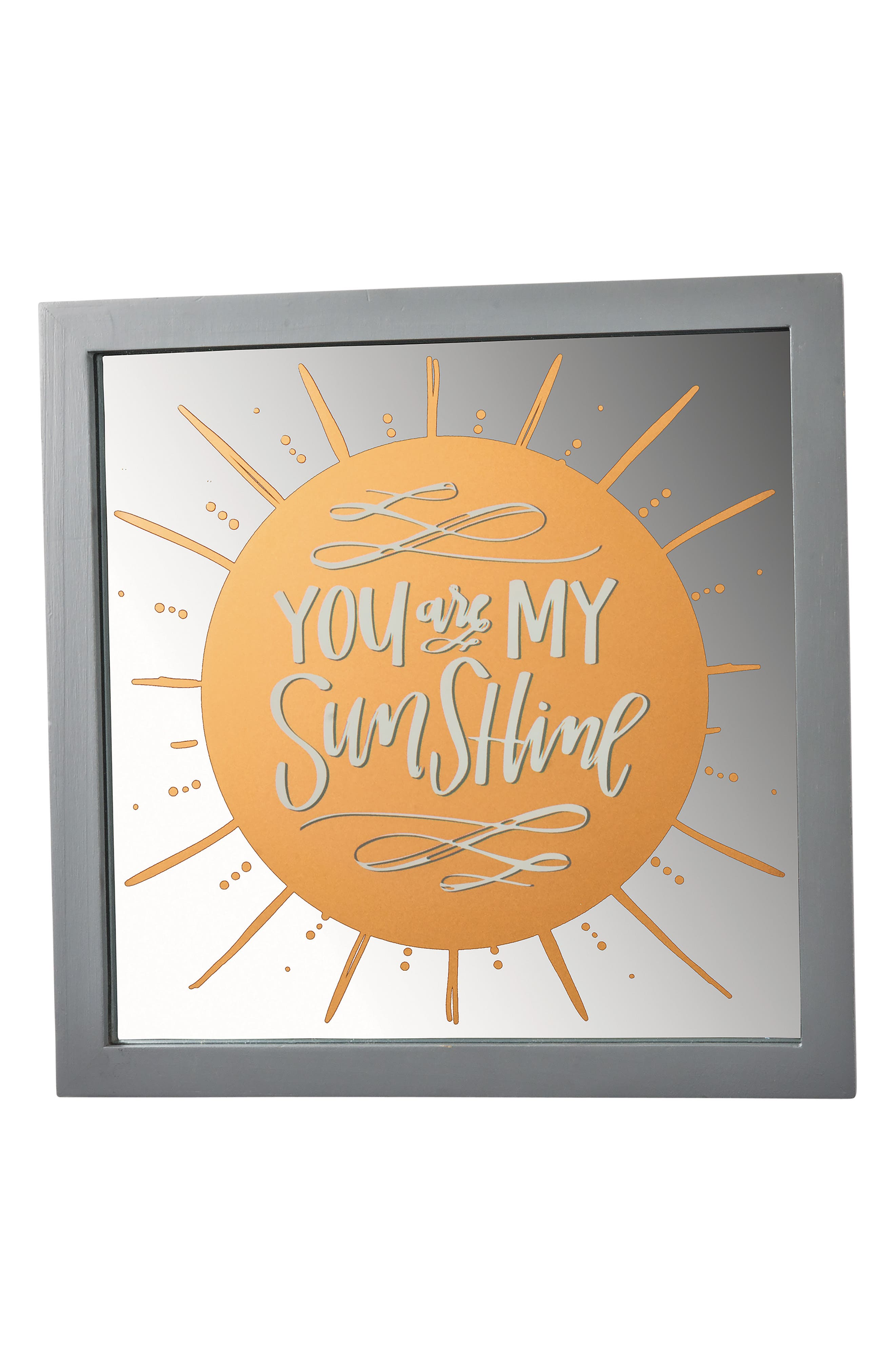 Primitives by Kathy You Are My Sunshine Glass Panel Sign