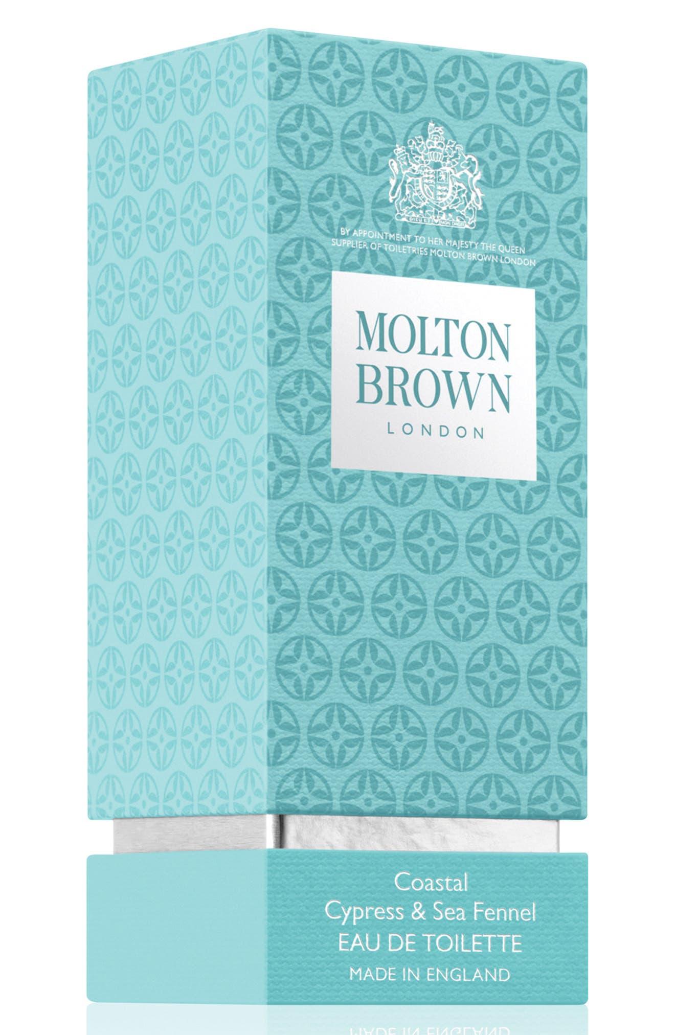 Alternate Image 2  - MOLTON BROWN London Coastal Cypress & Sea Fennel Eau de Toilette