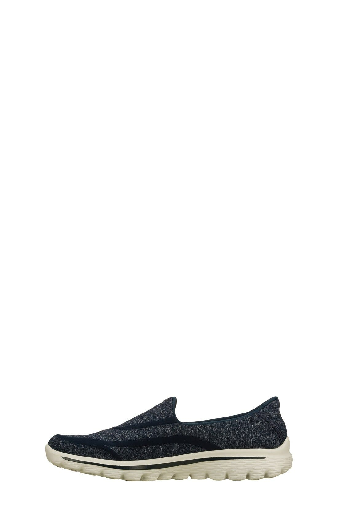 Alternate Image 3  - SKECHERS 'GOwalk 2 - Super Sock' Slip-On (Women)