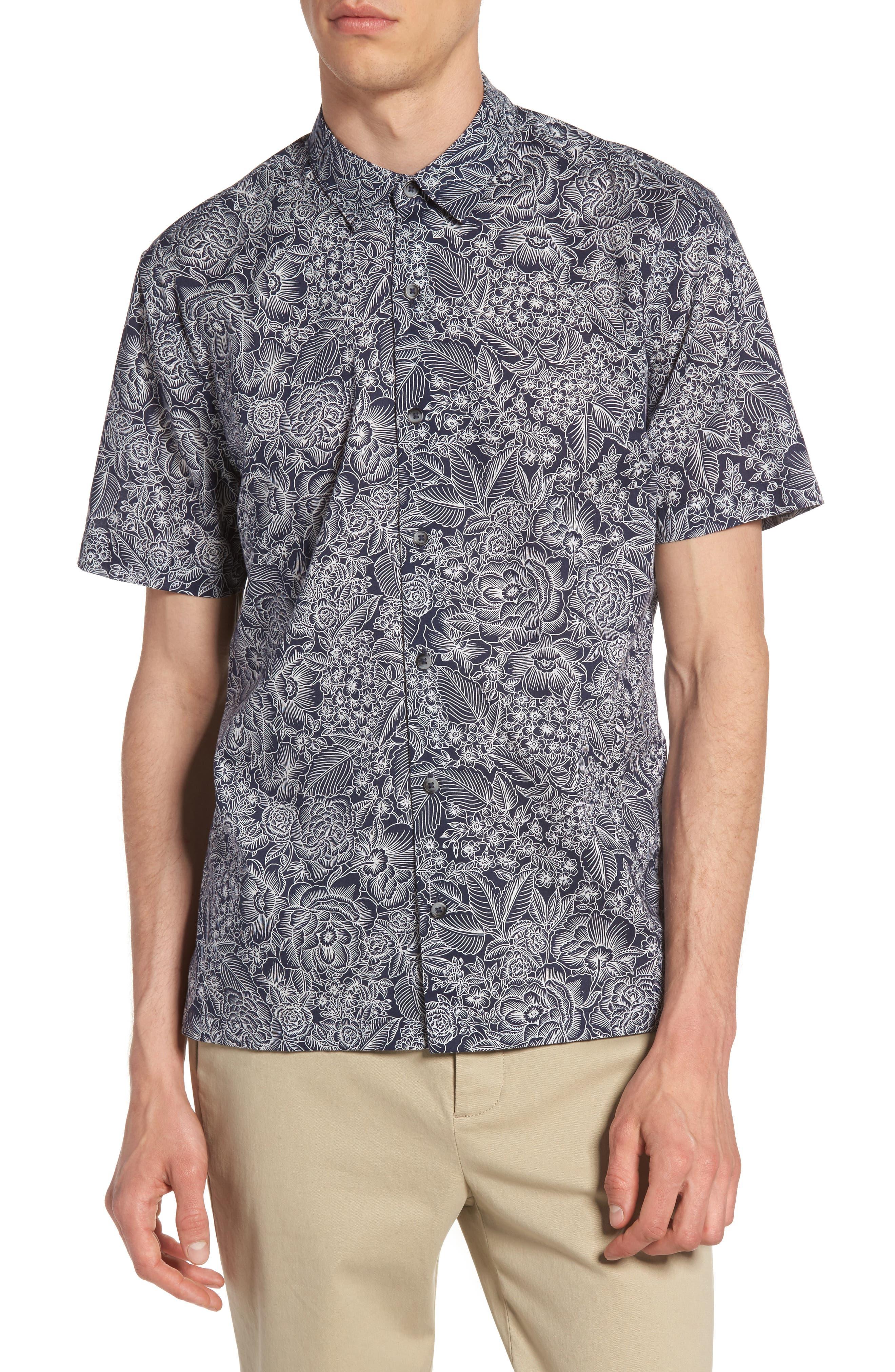 Topman Floral Shirt