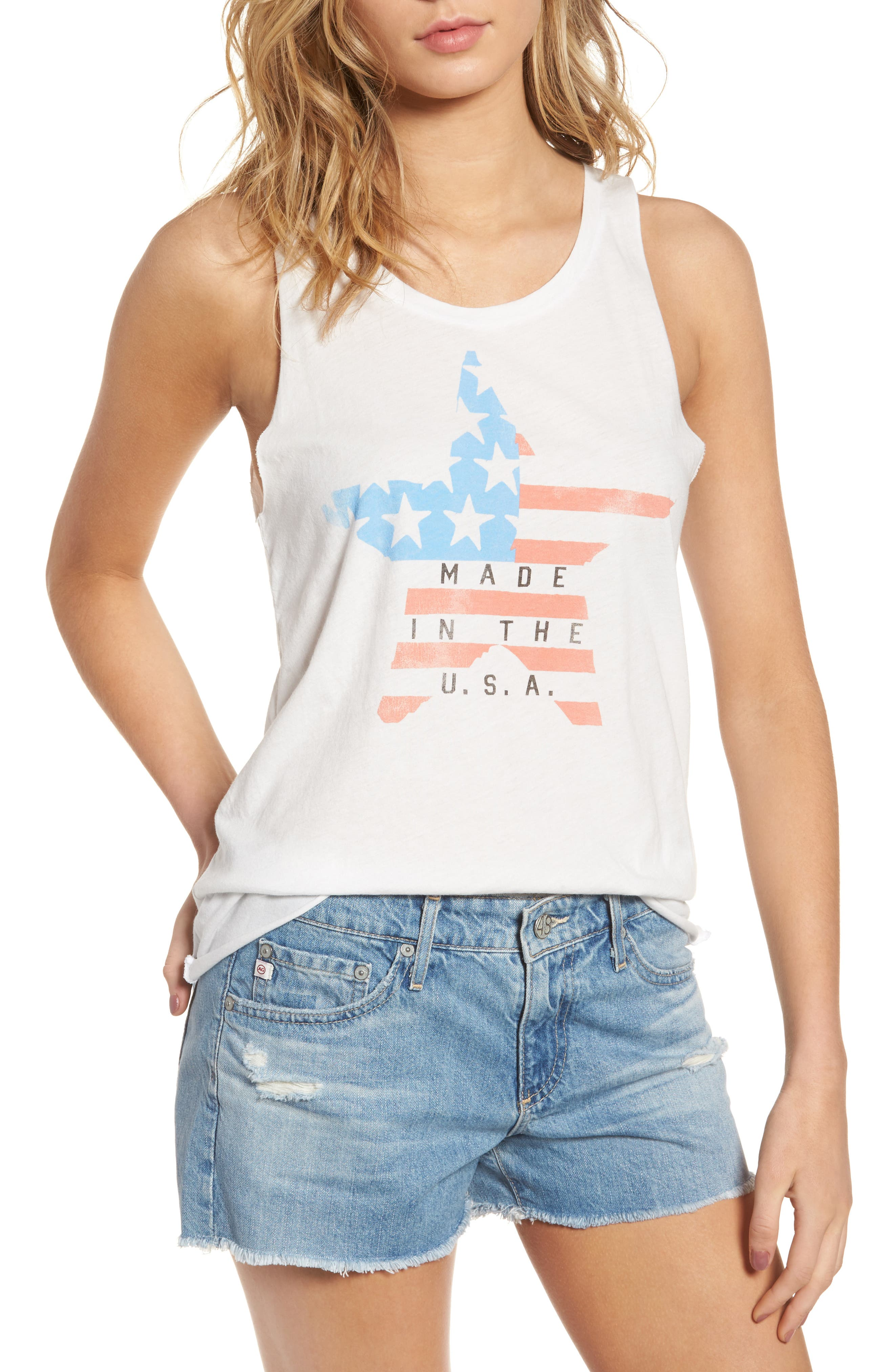 Junk Food Made In The USA Graphic Tank (Nordstrom Exclusive)