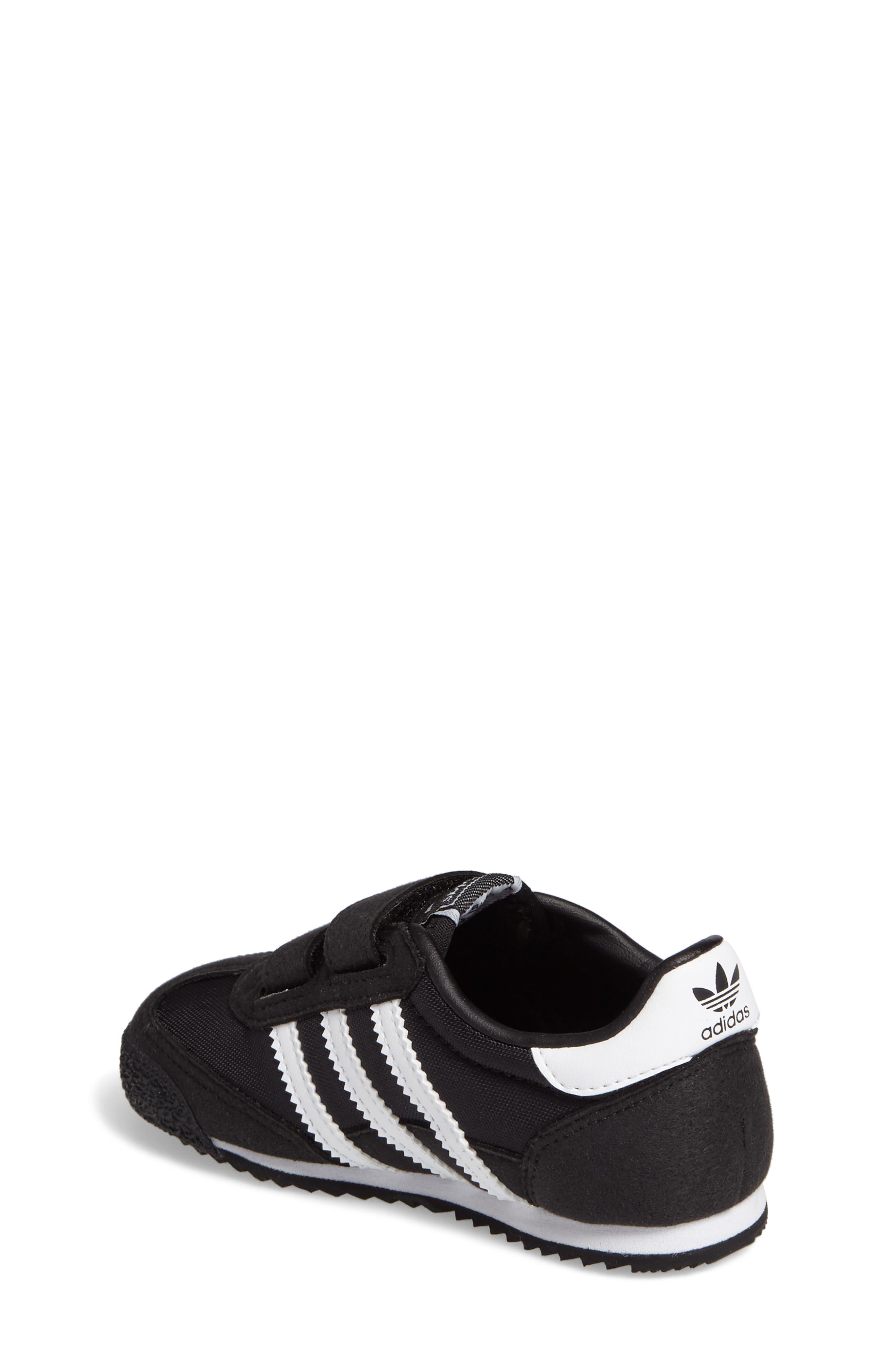 Alternate Image 2  - adidas Dragon OG CF Athletic Shoe (Baby, Walker & Toddler)