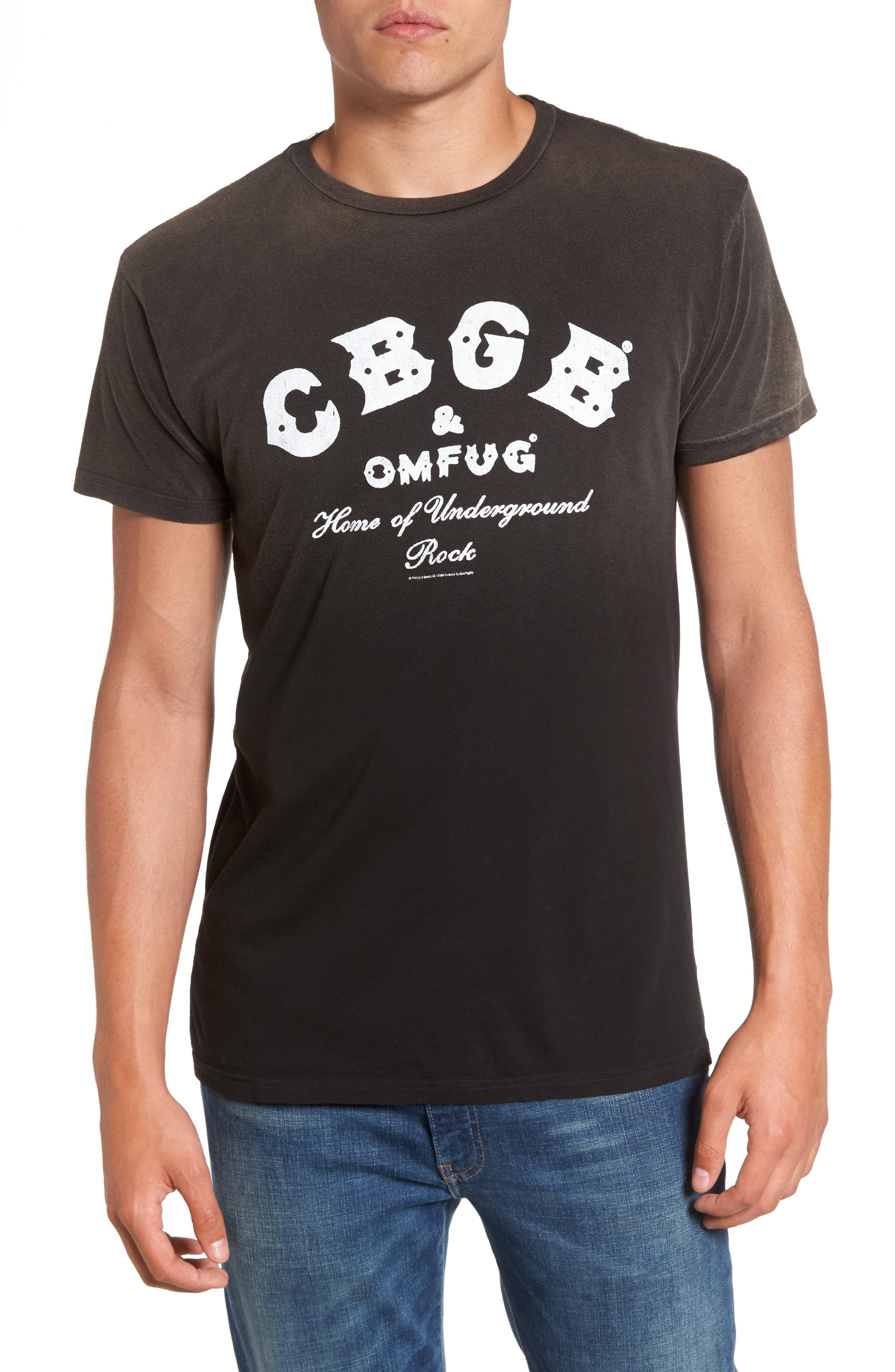 Retro Brand CBGB Graphic T-Shirt