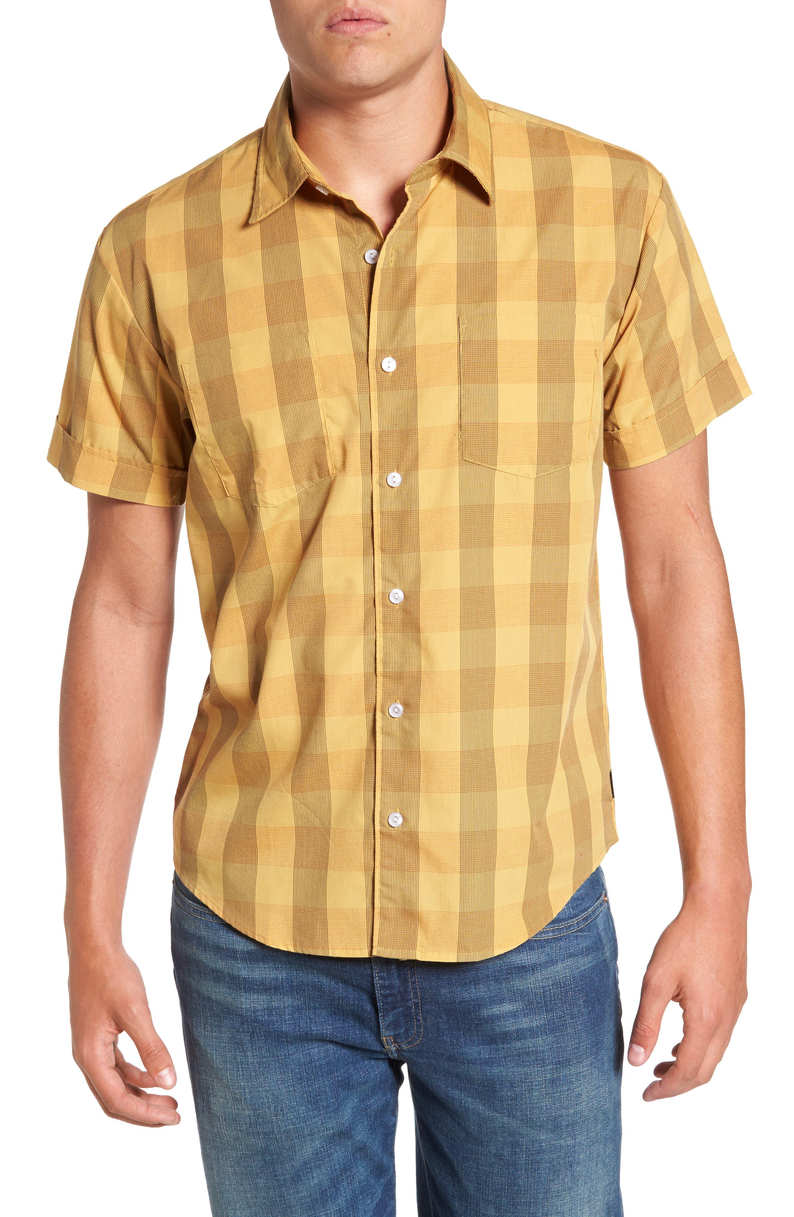 BRIXTON Branson Print Woven Shirt