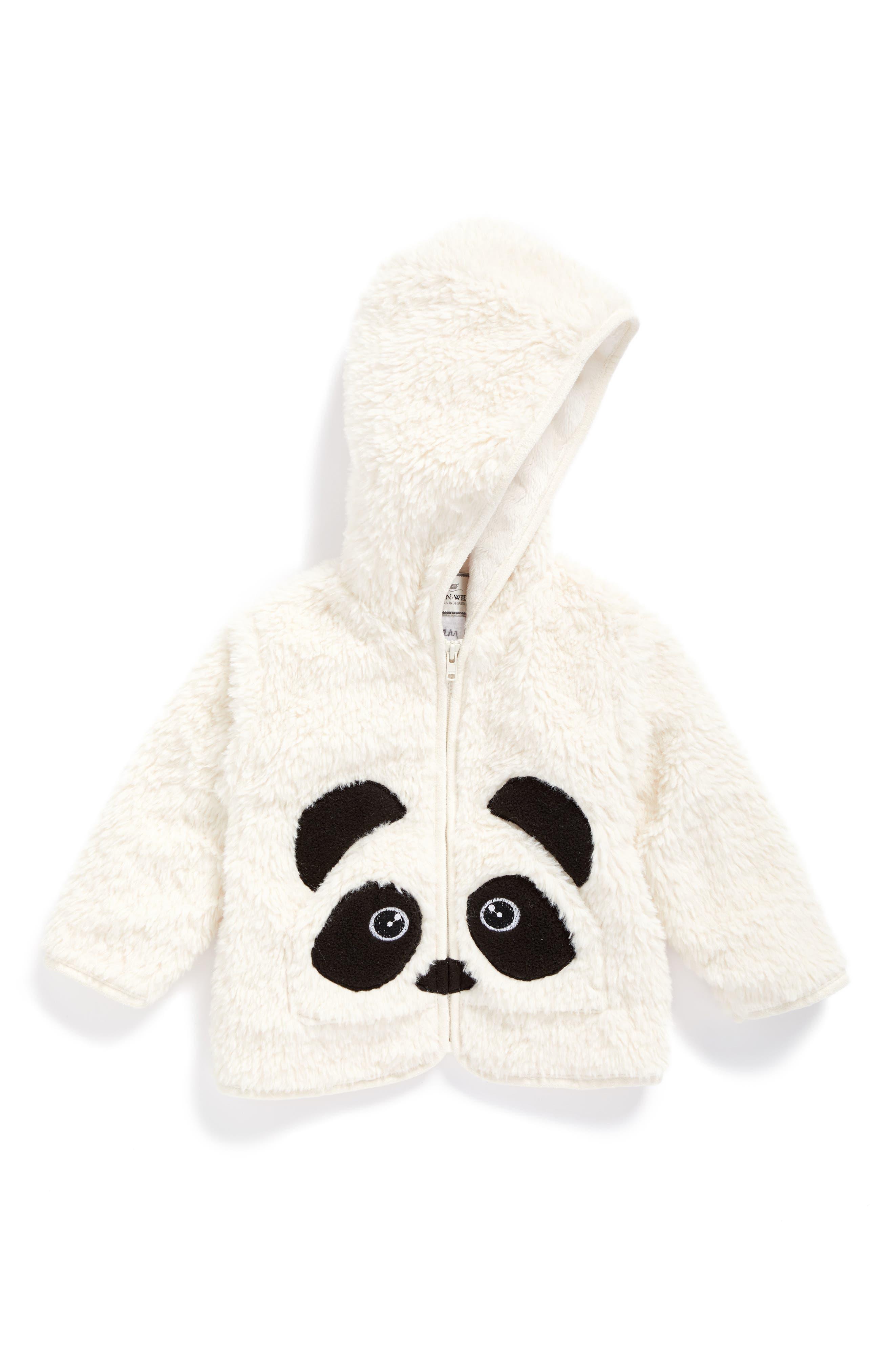 Widgeon Pandaroo Faux Fur Jacket (Baby)