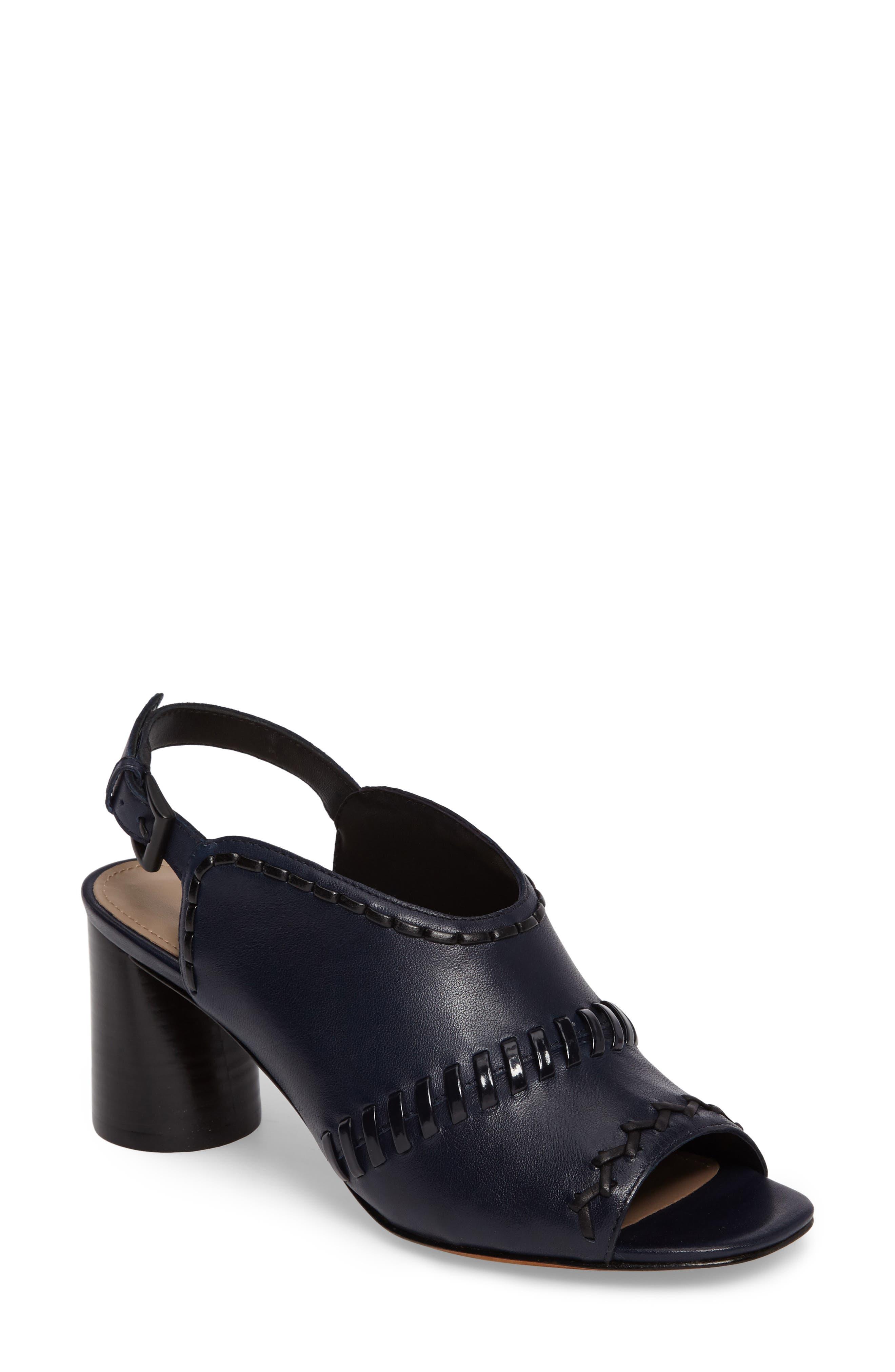 Donald J Pliner Hemi Cone Heel Slingback Sandal (Women)