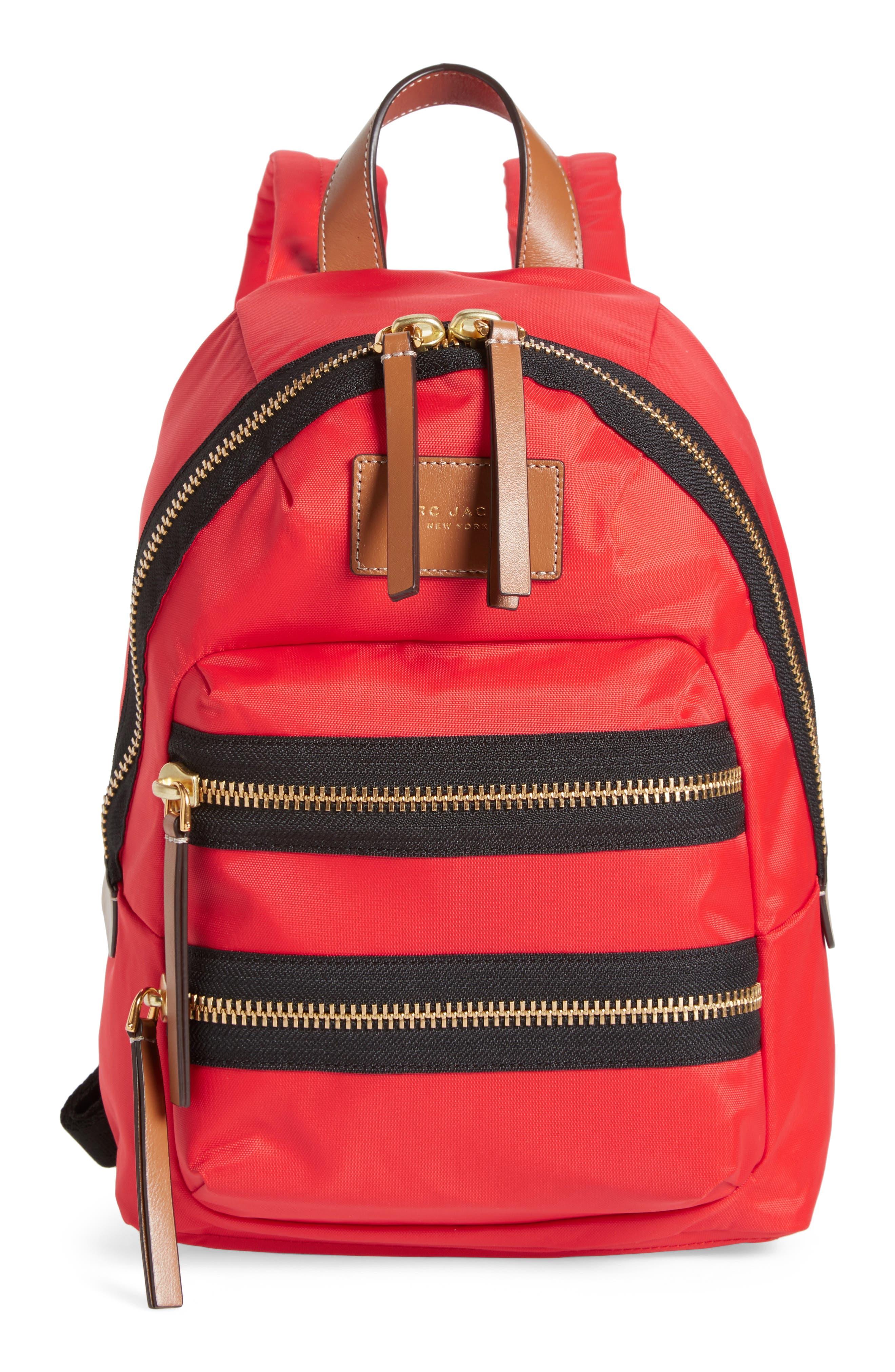MARC JACOBS 'Mini Biker' Nylon Backpack