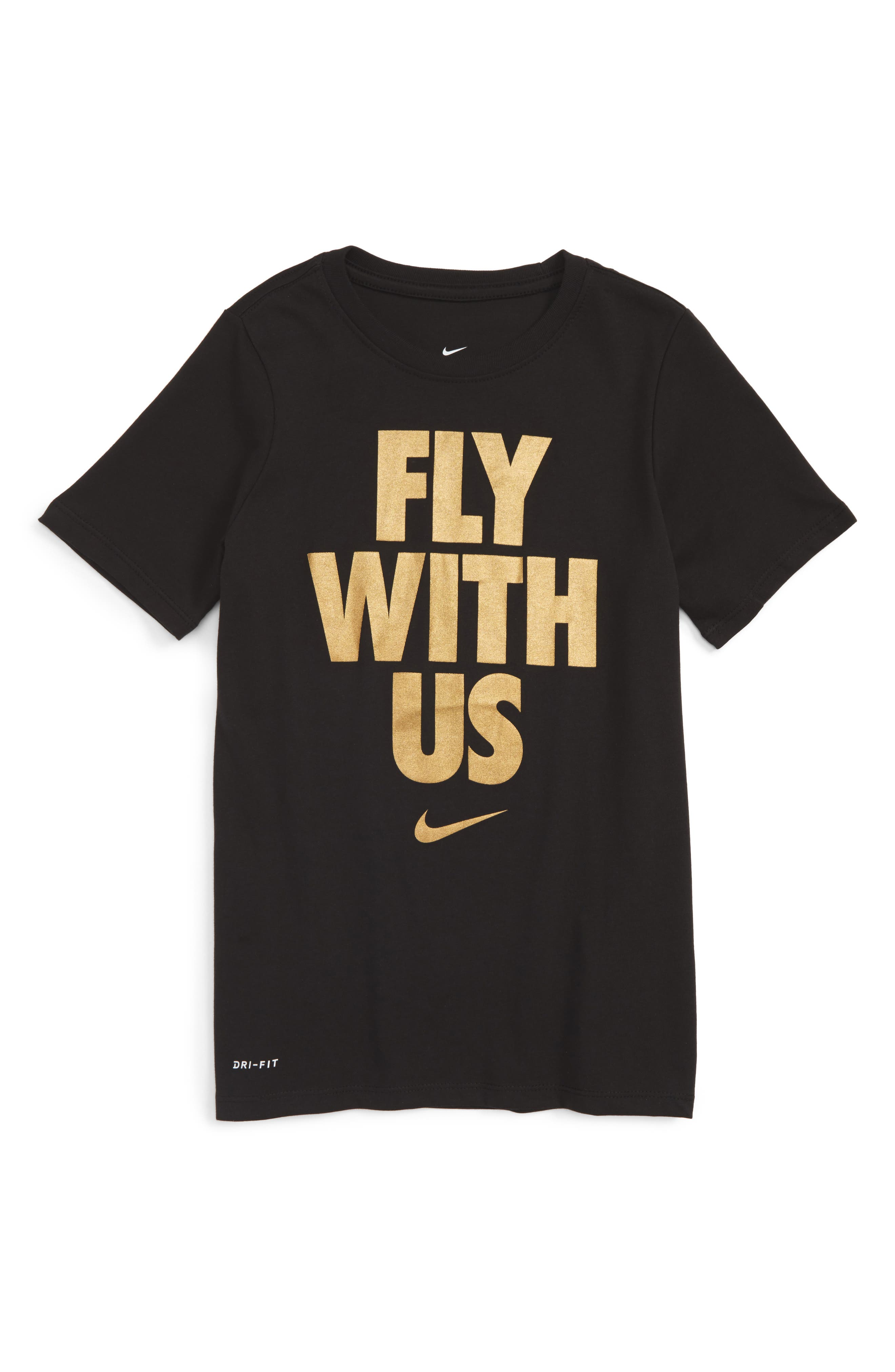 Nike Dry Fly With Us Graphic T-Shirt (Little Boys & Big Boys)