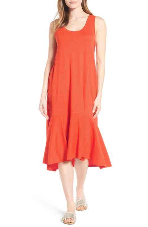 Caslon® Drop Waist Jersey Dress