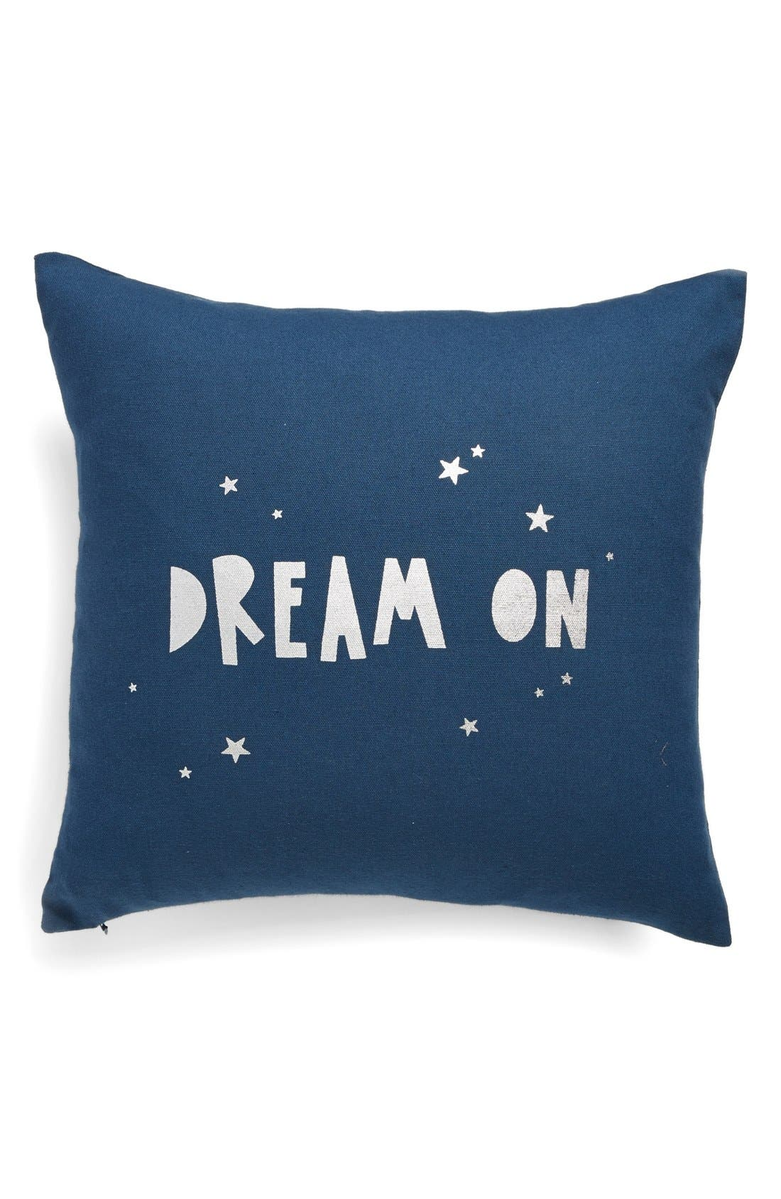 Alternate Image 1 Selected - Nordstrom at Home 'Dream On' Square Accent Pillow