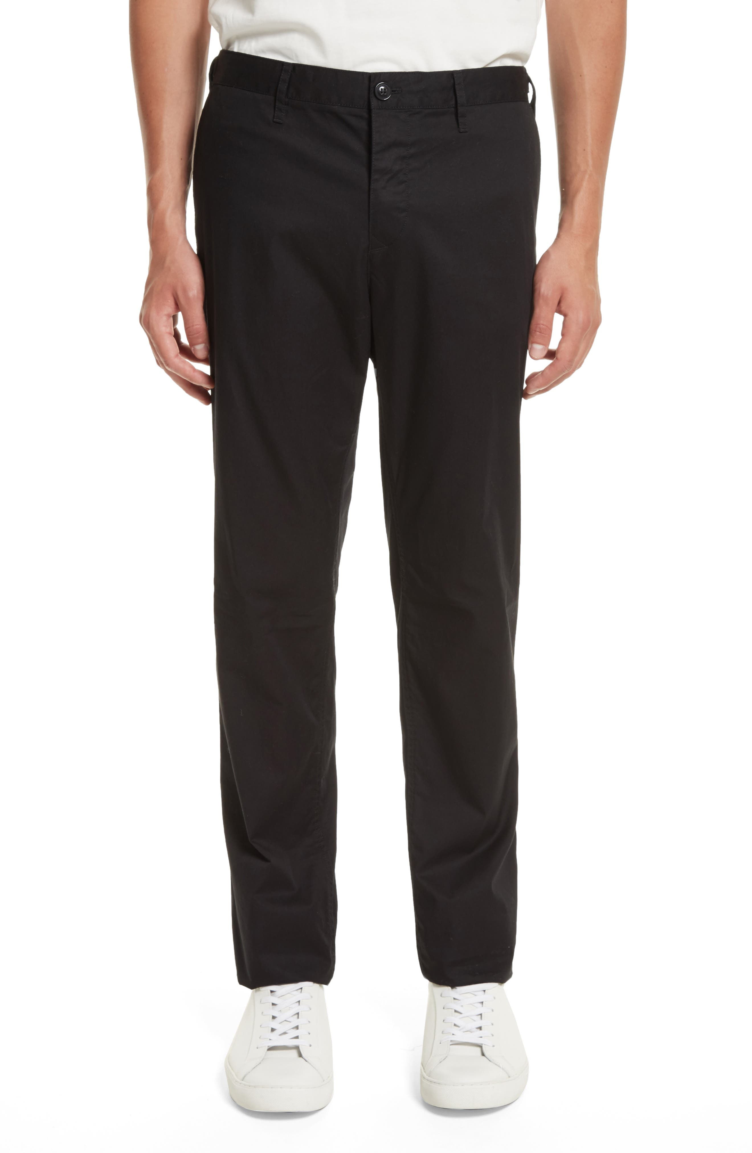 Burberry Straight Leg Chinos