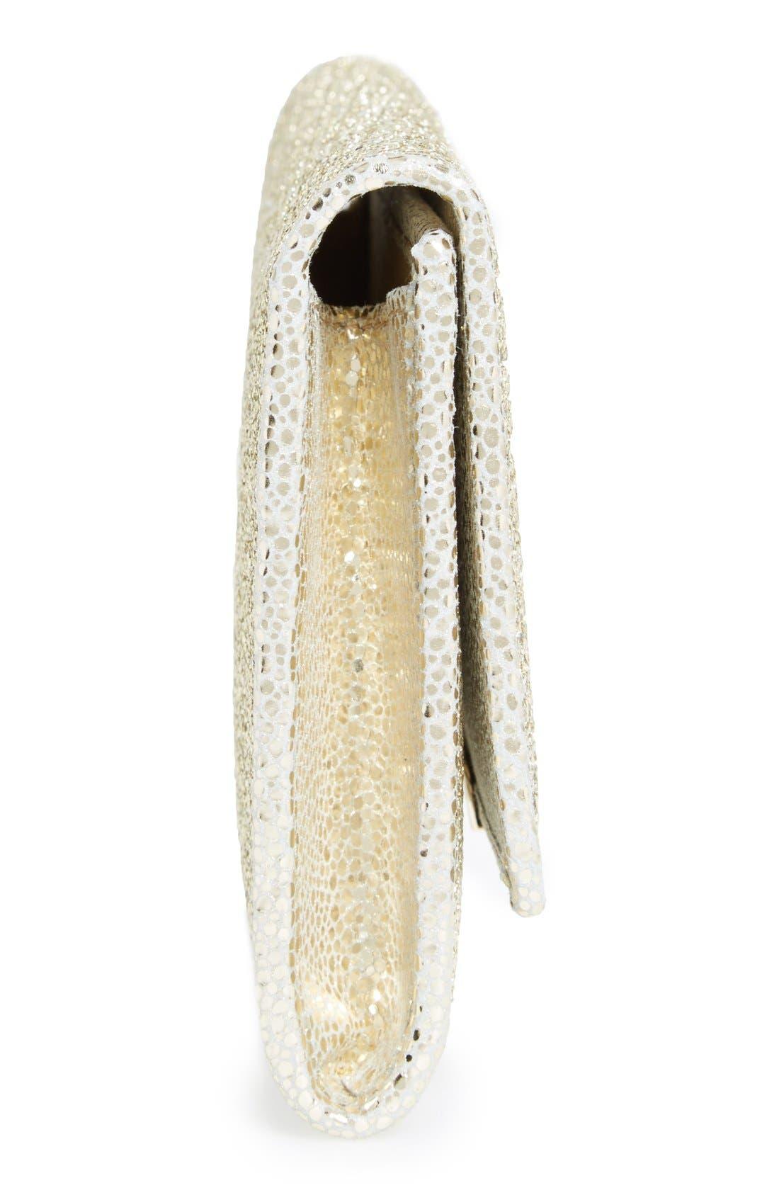 Alternate Image 5  - Jimmy Choo 'Marilyn' Glitter Leather Clutch