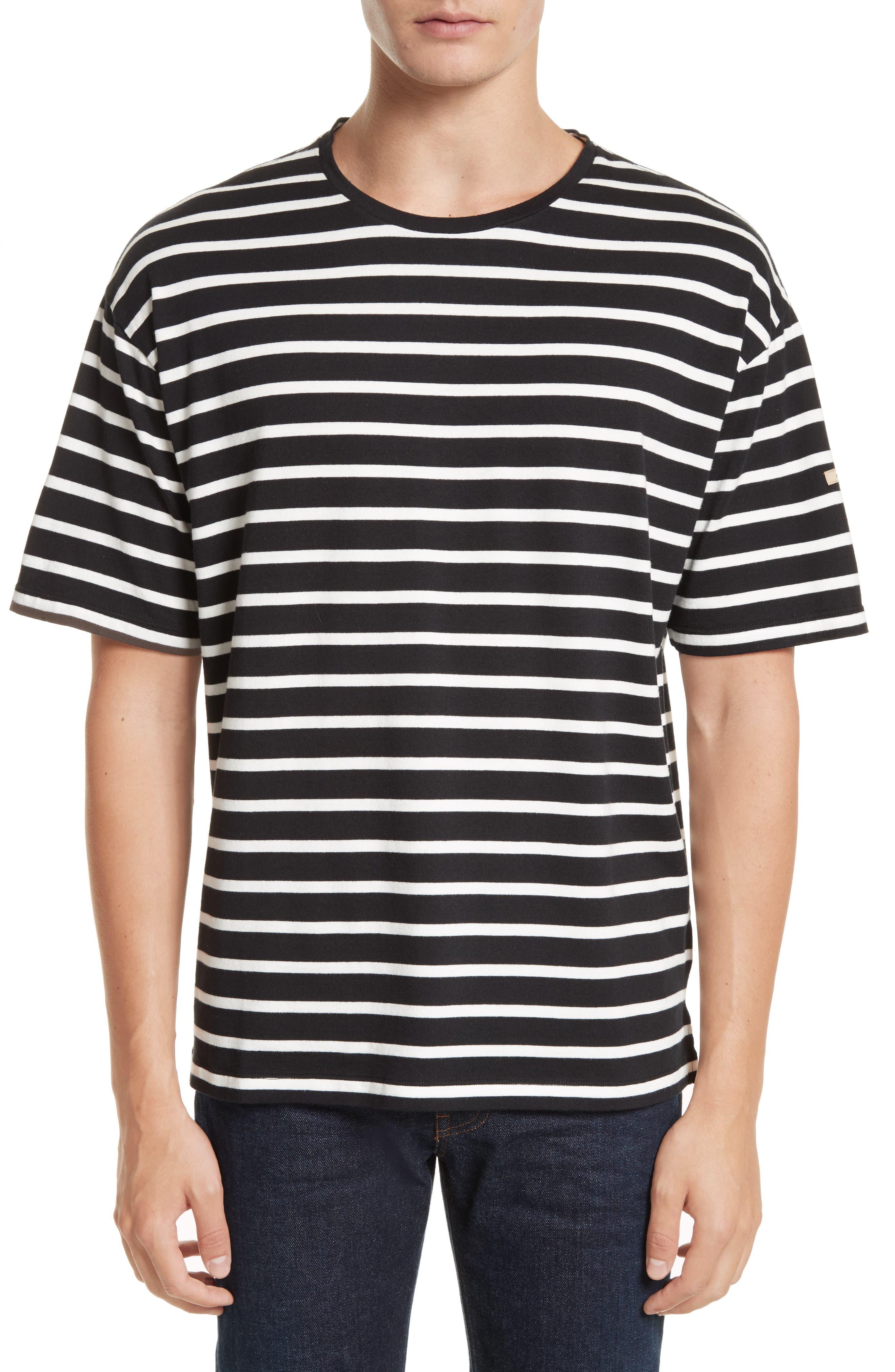 Burberry Totfoard Stripe Oversize T-Shirt