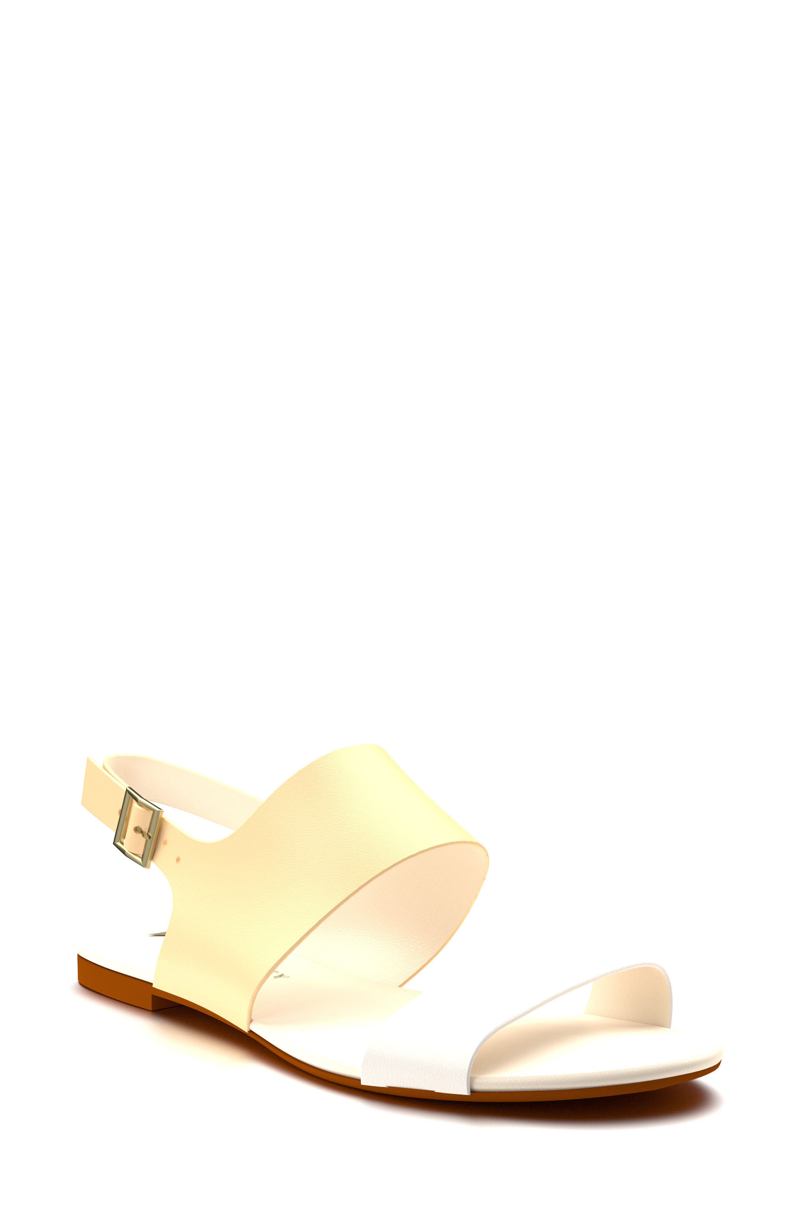 Shoes of Prey Slingback Flat Sandal (Women)