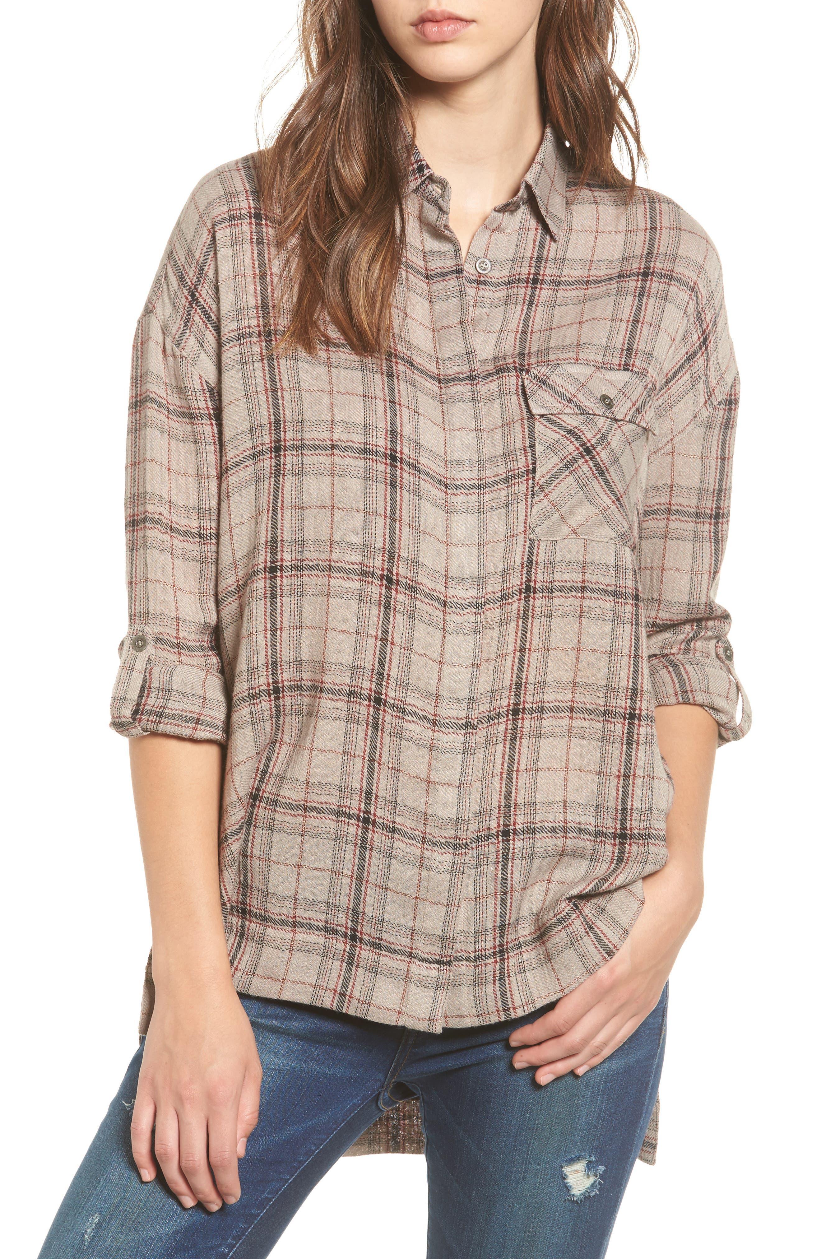 Lira Clothing Hayworth Plaid Tunic