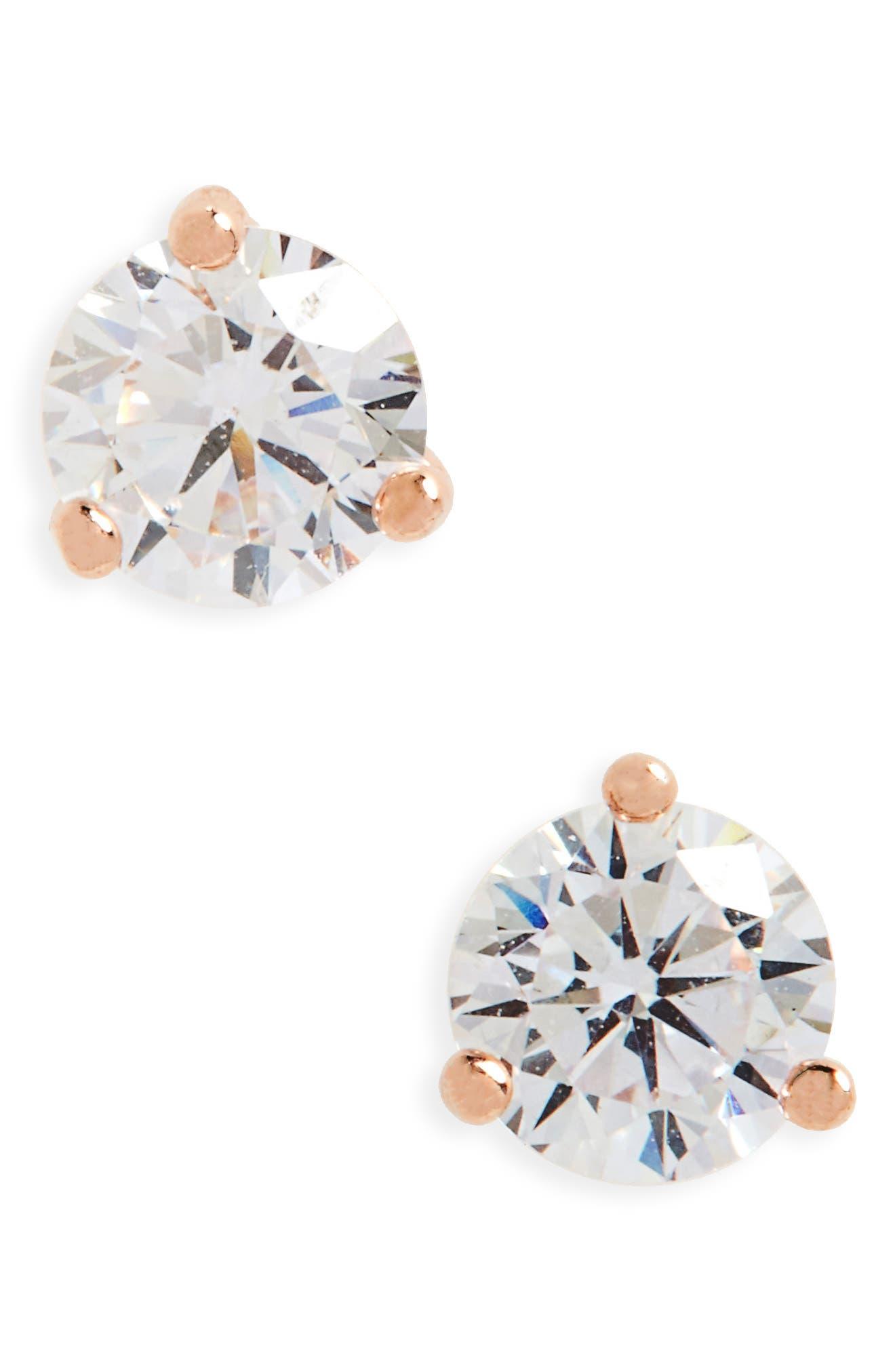 Nordstrom 0.50ct tw Cubic Zirconia Stud Earrings