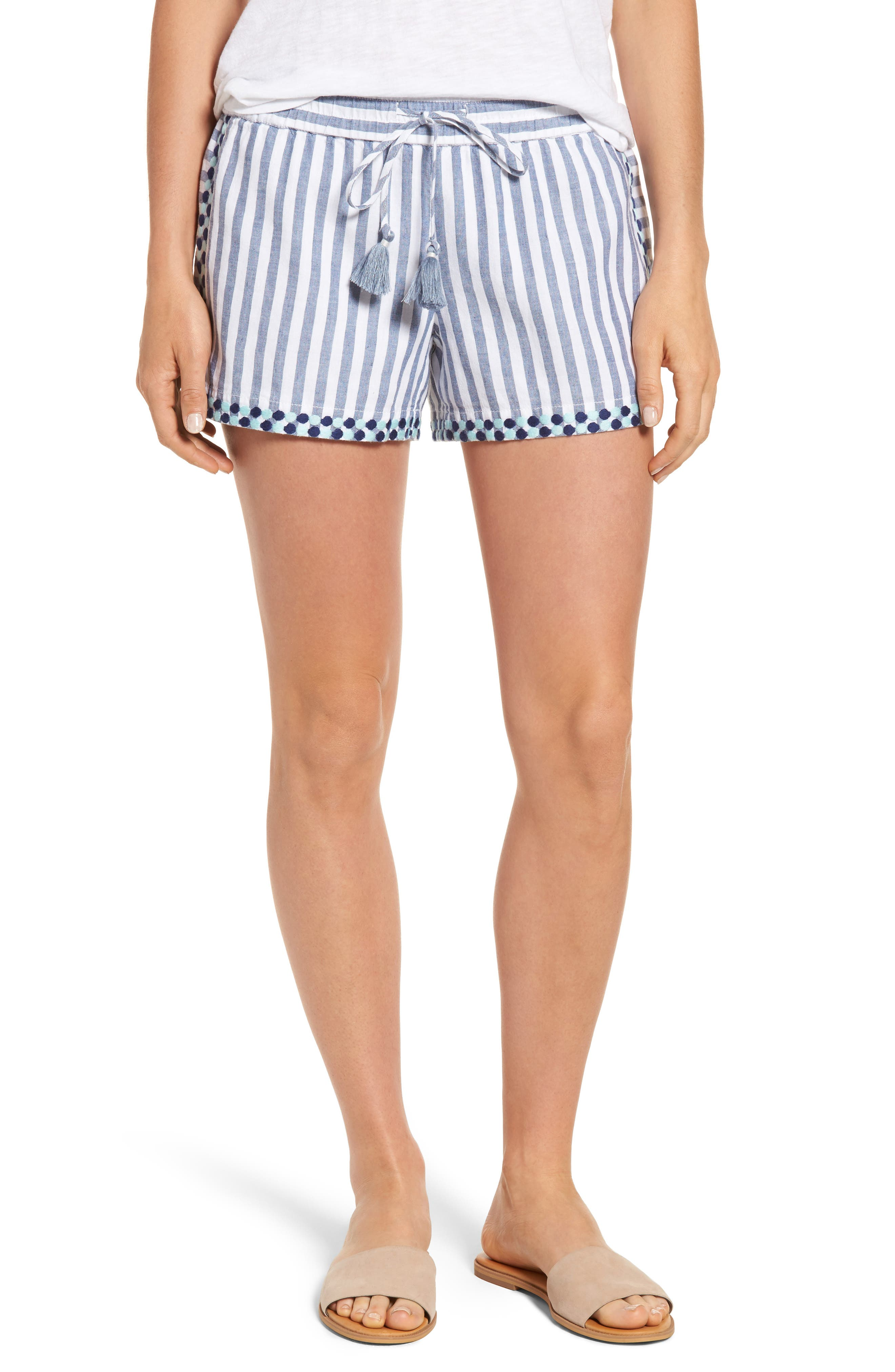 Vineyard Vines Edging Stripe Drawstring Shorts