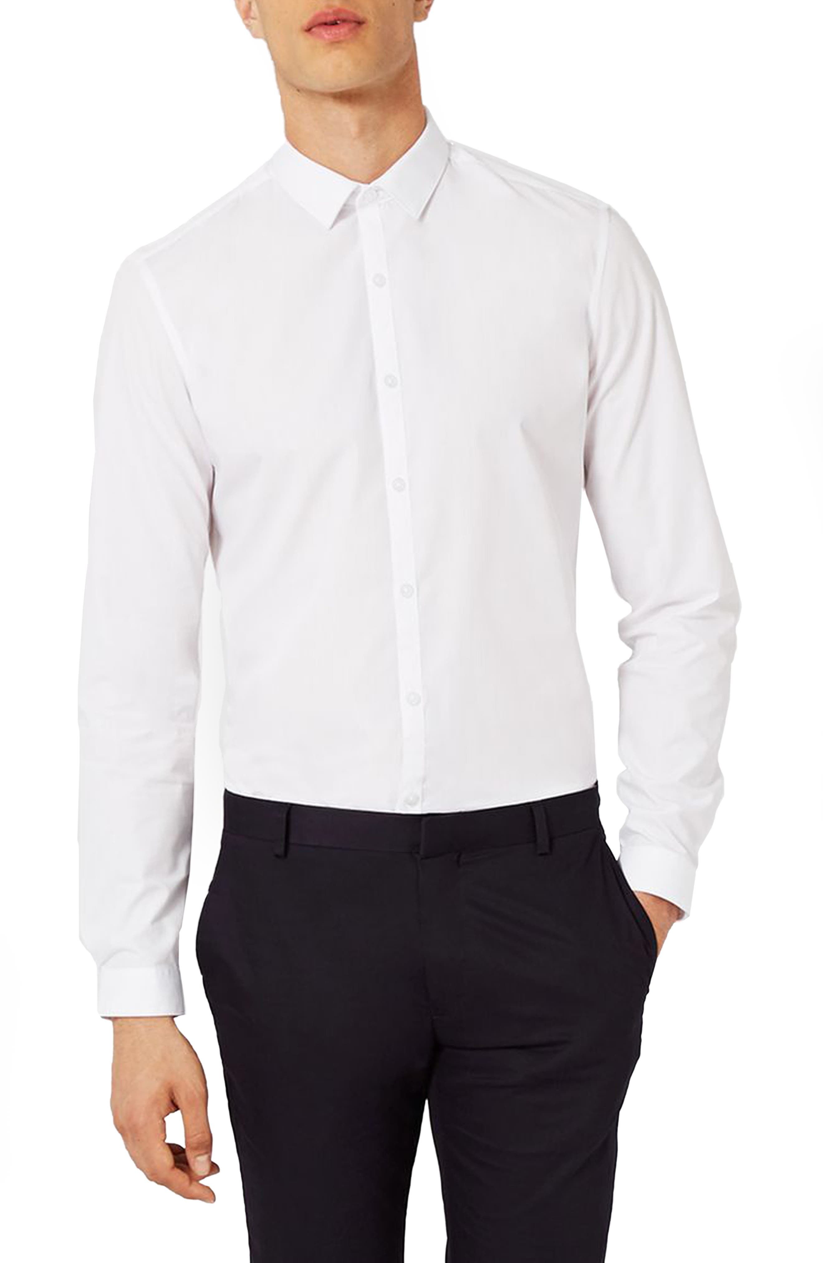 Charlie Casely-Hayford x Topman Skinny Fit Dress Shirt