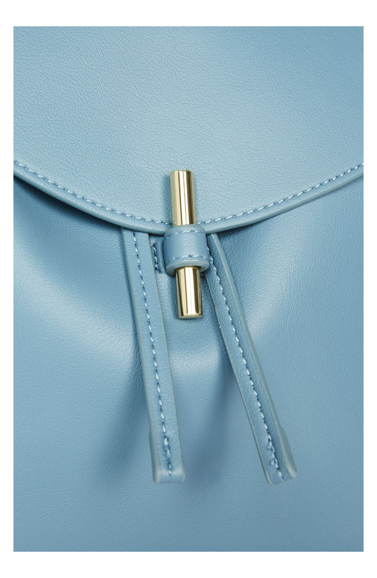 Alternate Image 5  - Topshop Blake Mini Faux Leather Backpack