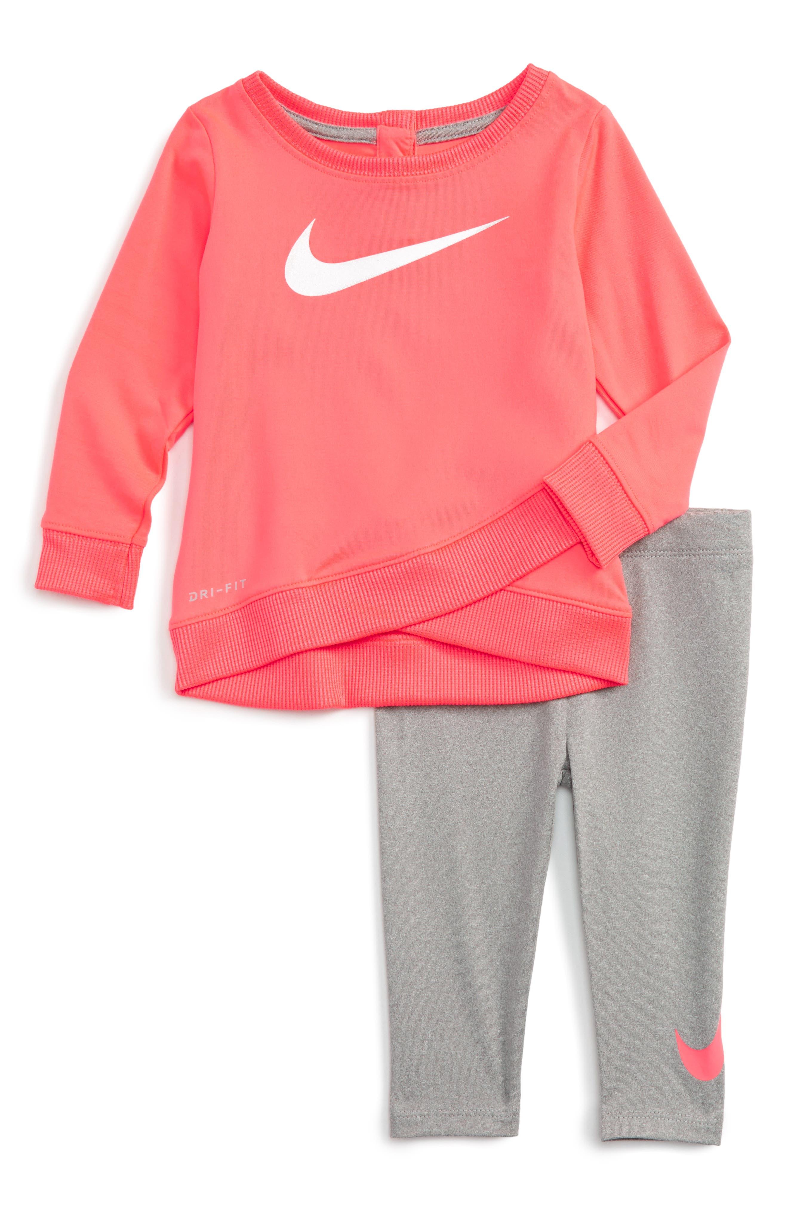 Nike Dry Tunic & Leggings Set (Baby Girls)