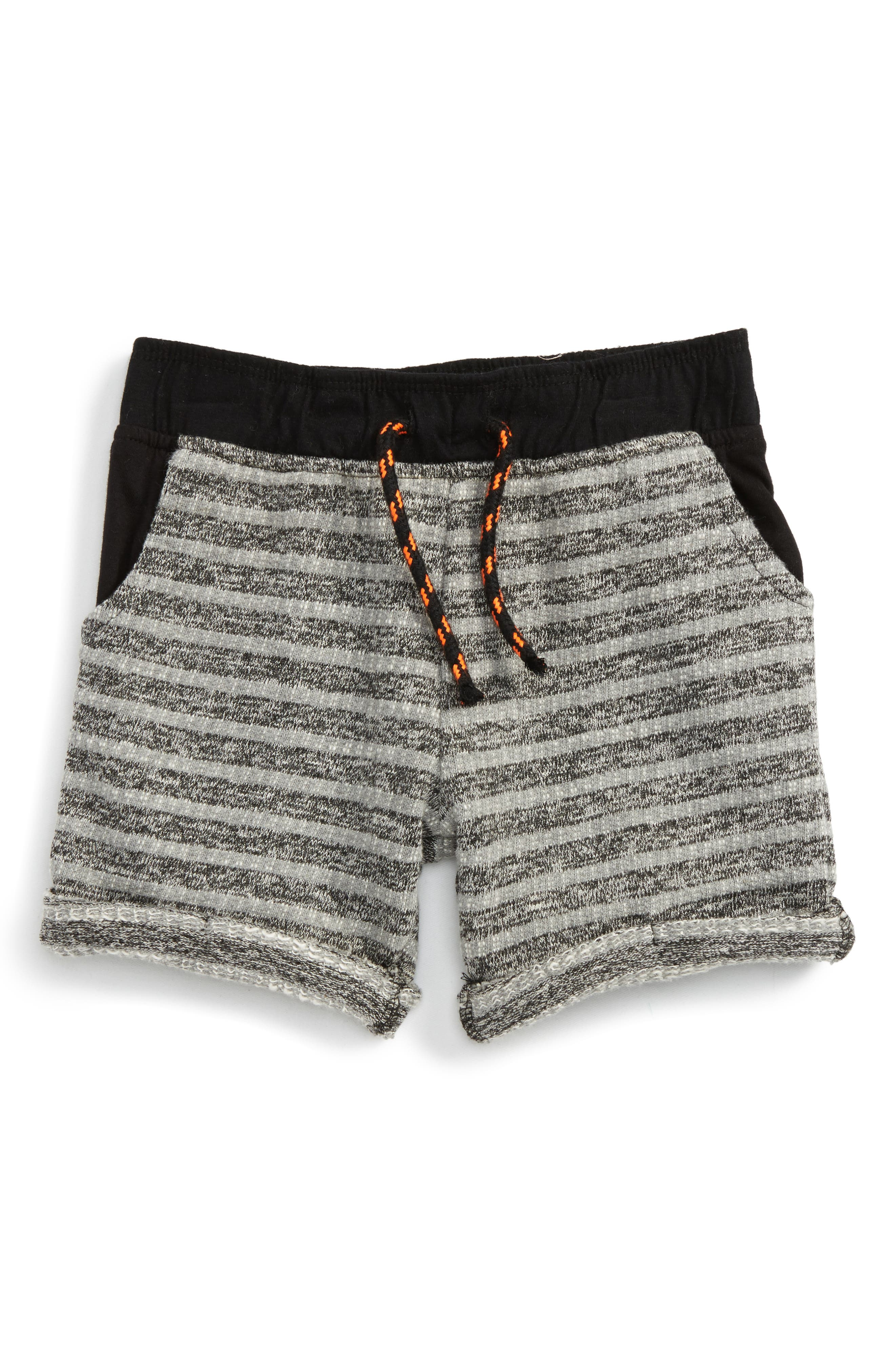 Peek Jordan Stripe Shorts (Toddler Boys, Little Boys & Big Boys)