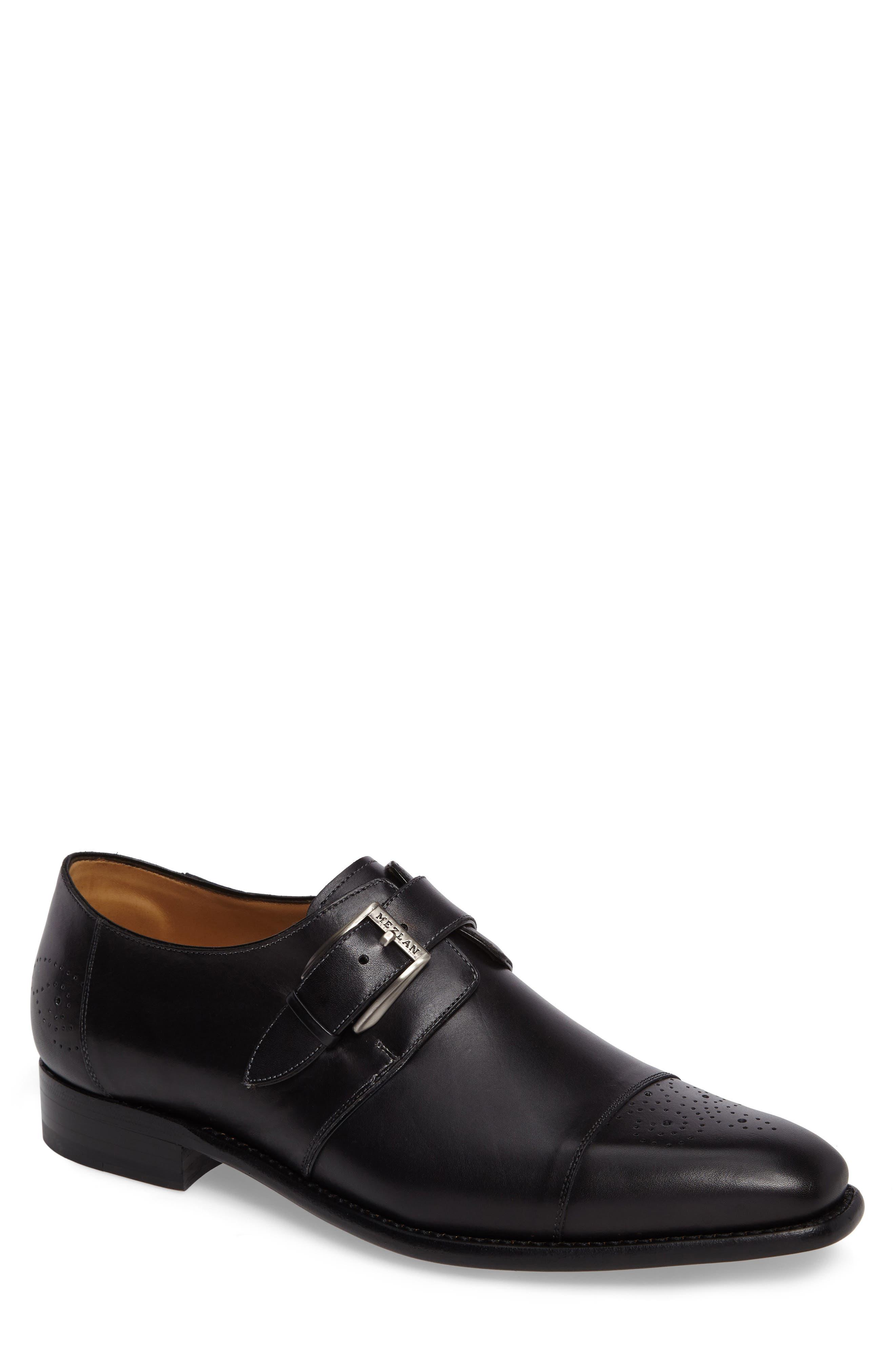 Mezlan Jean Monk Strap Shoe (Men)