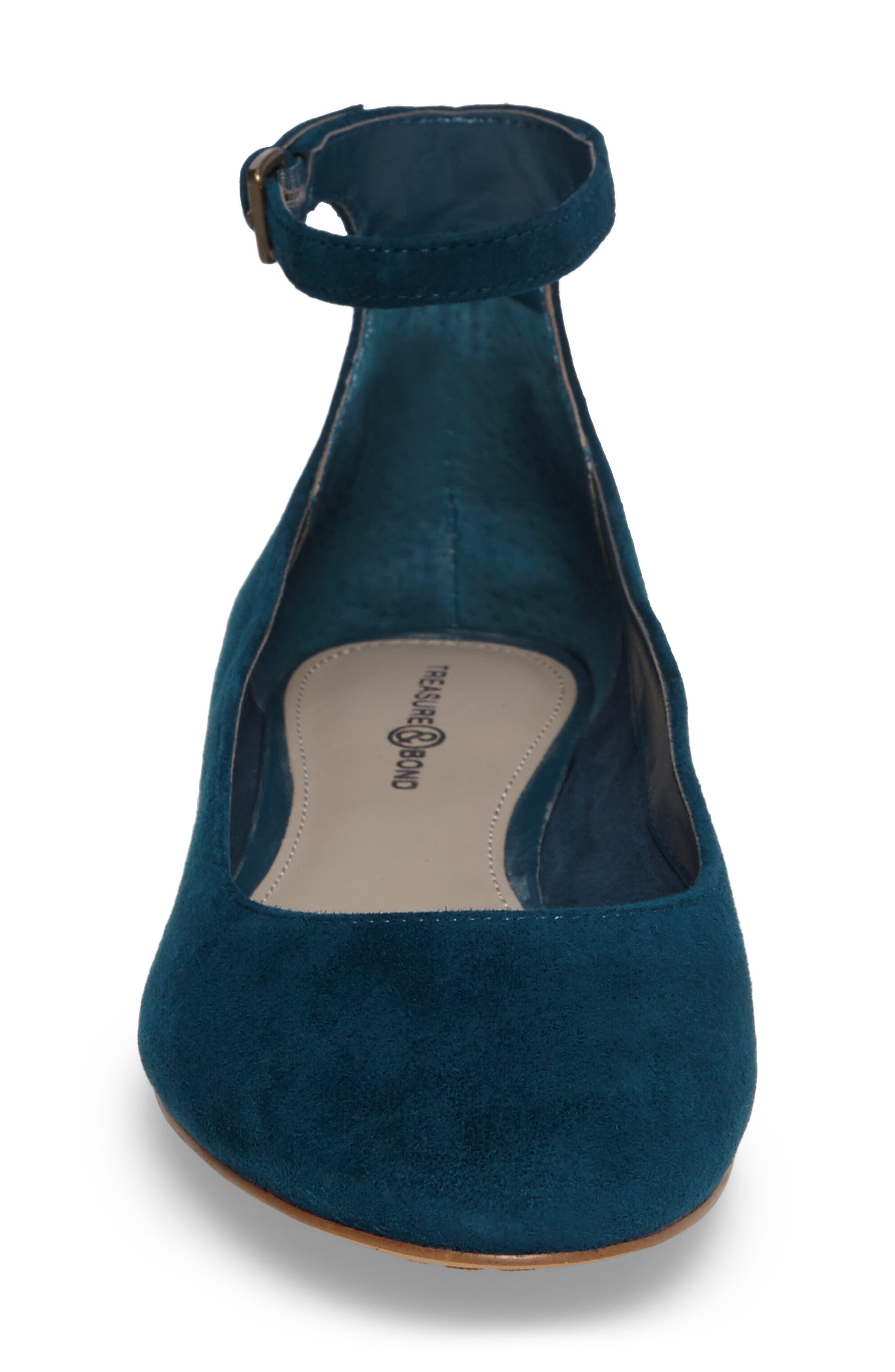 Alternate Image 4  - Treasure & Bond Jules Ankle Strap Ballet Flat (Women)